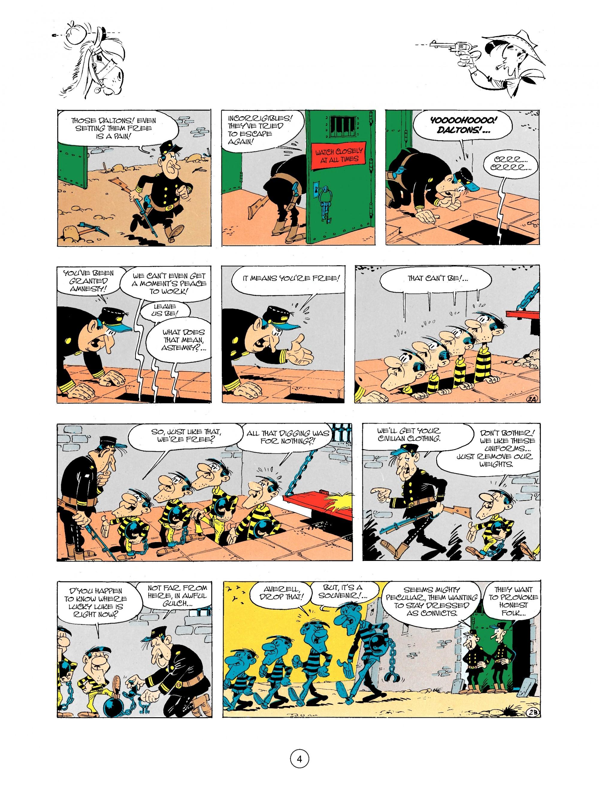 Read online A Lucky Luke Adventure comic -  Issue #34 - 4