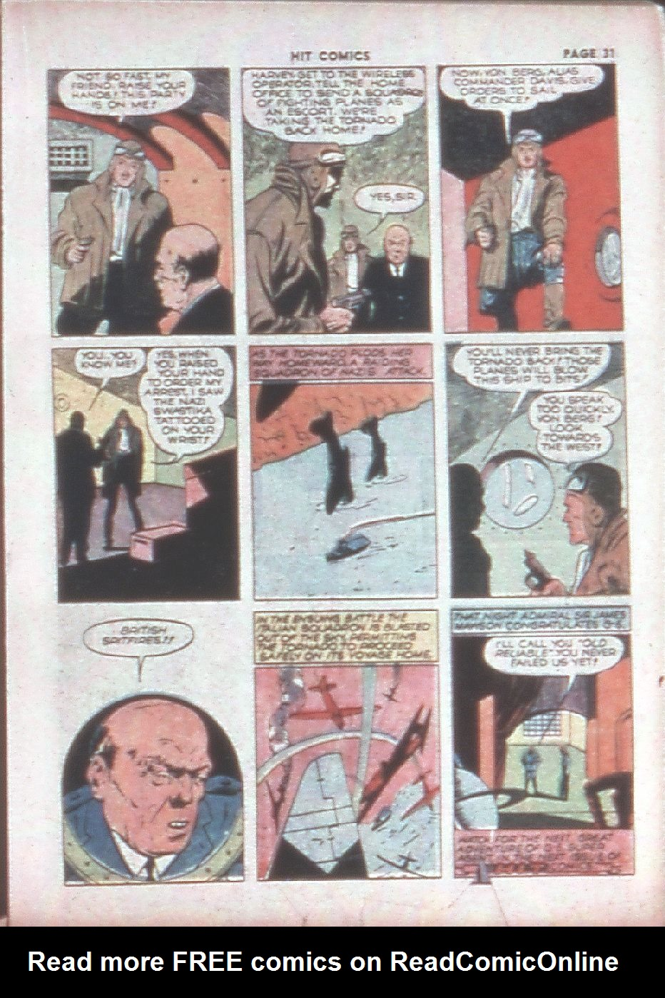 Read online Hit Comics comic -  Issue #8 - 33