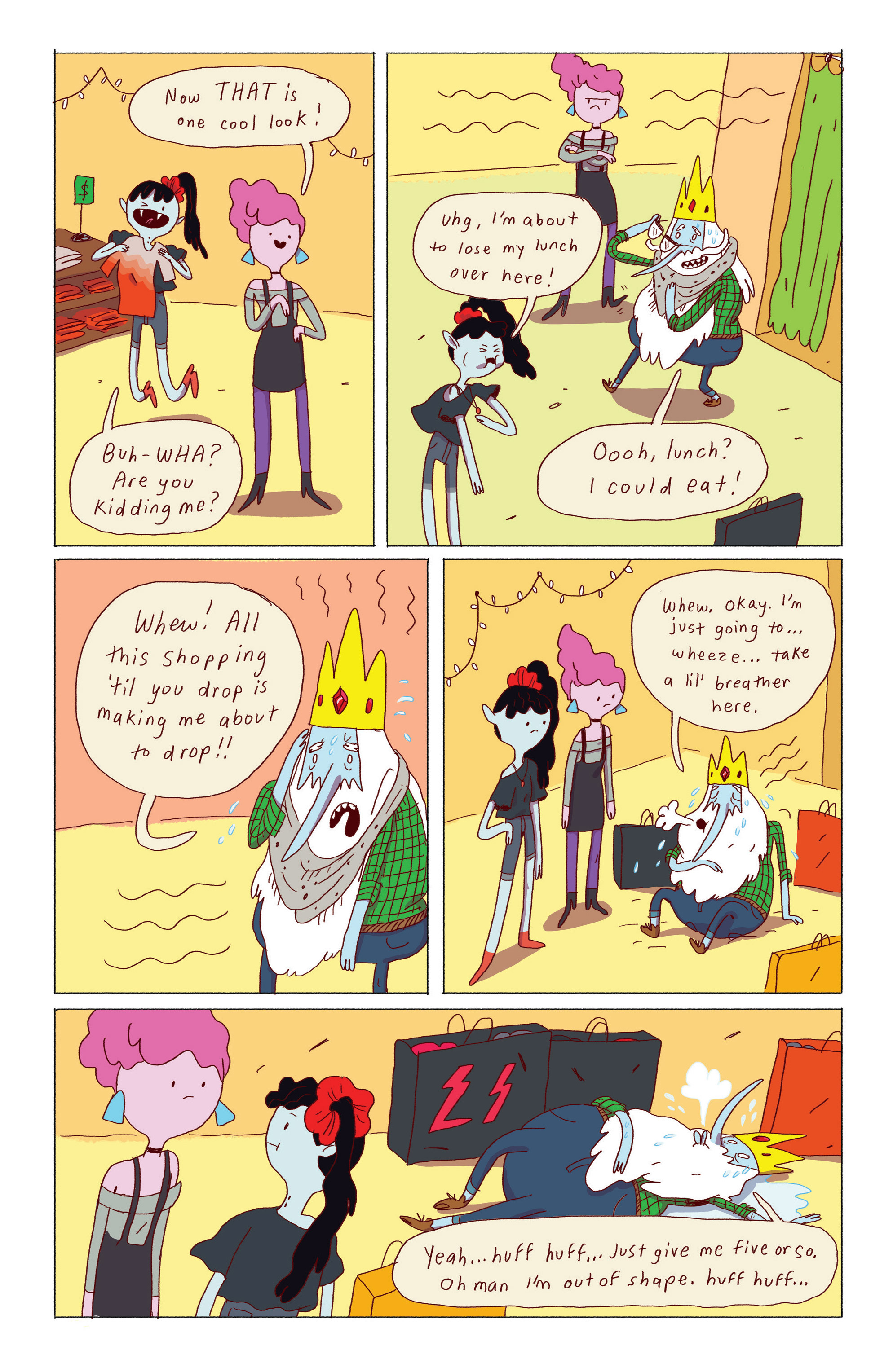 Read online Adventure Time: Ice King comic -  Issue #2 - 18