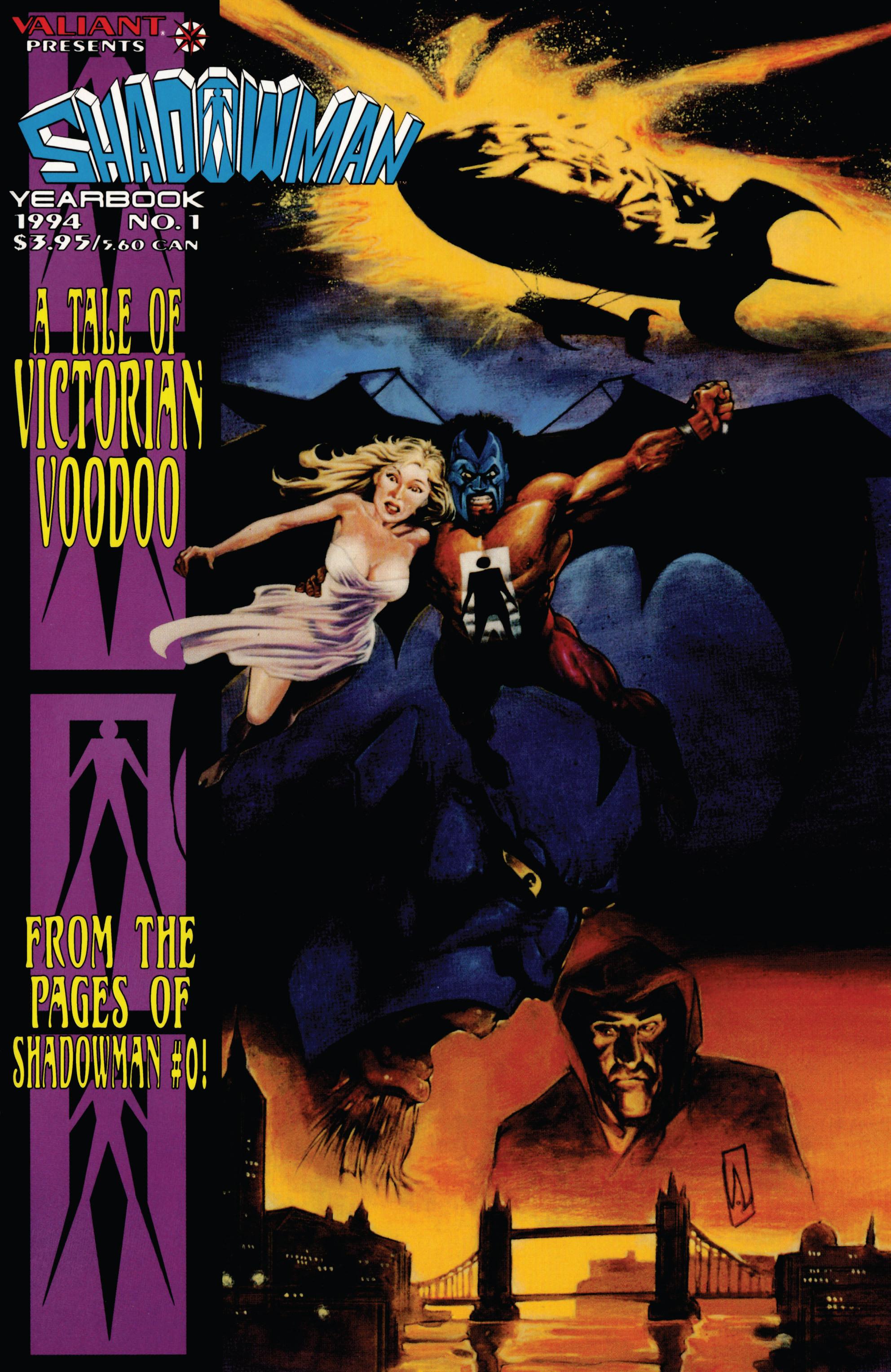 Read online Shadowman (1992) comic -  Issue # _TPB 1 - 1