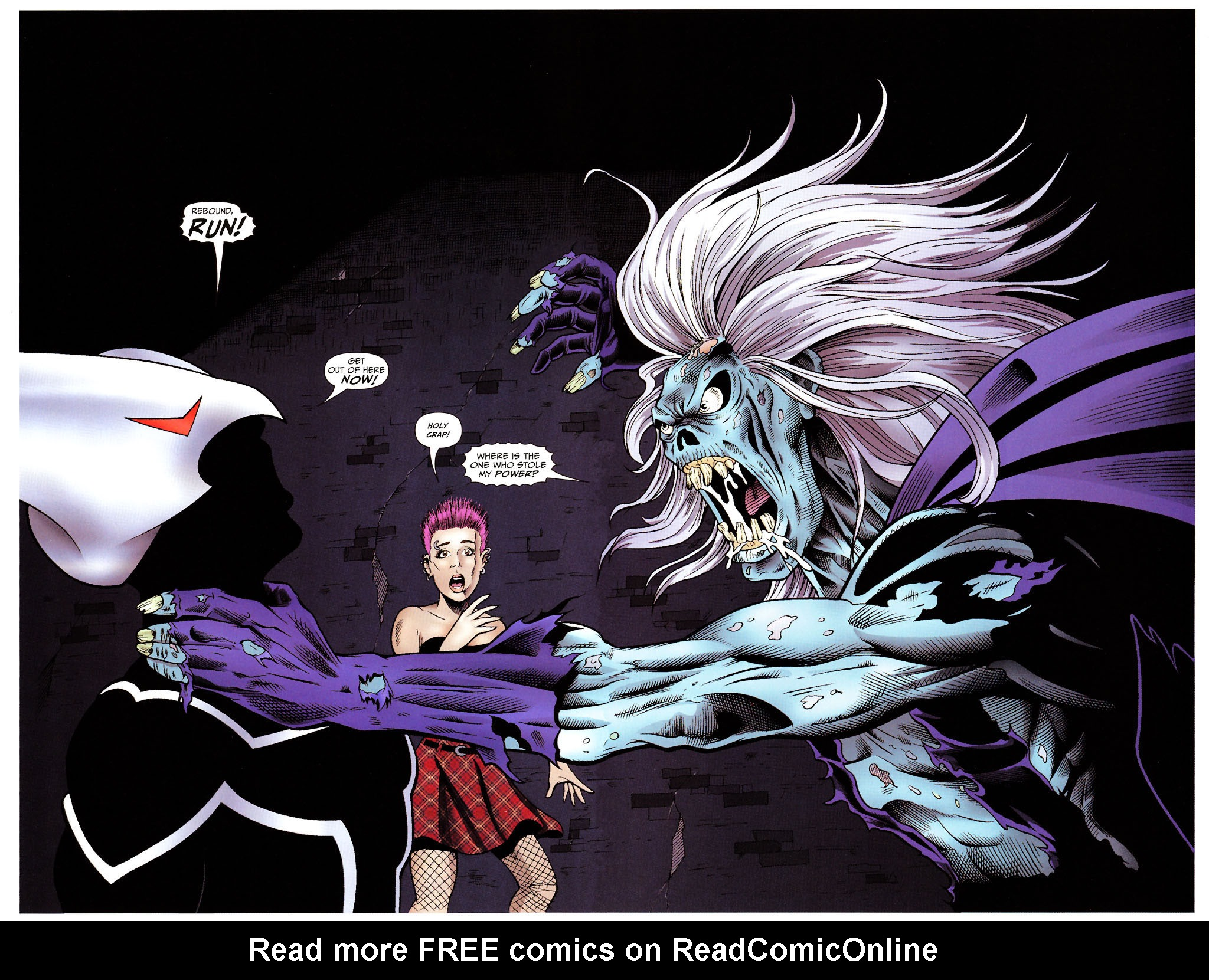 Read online ShadowHawk (2005) comic -  Issue #15 - 4