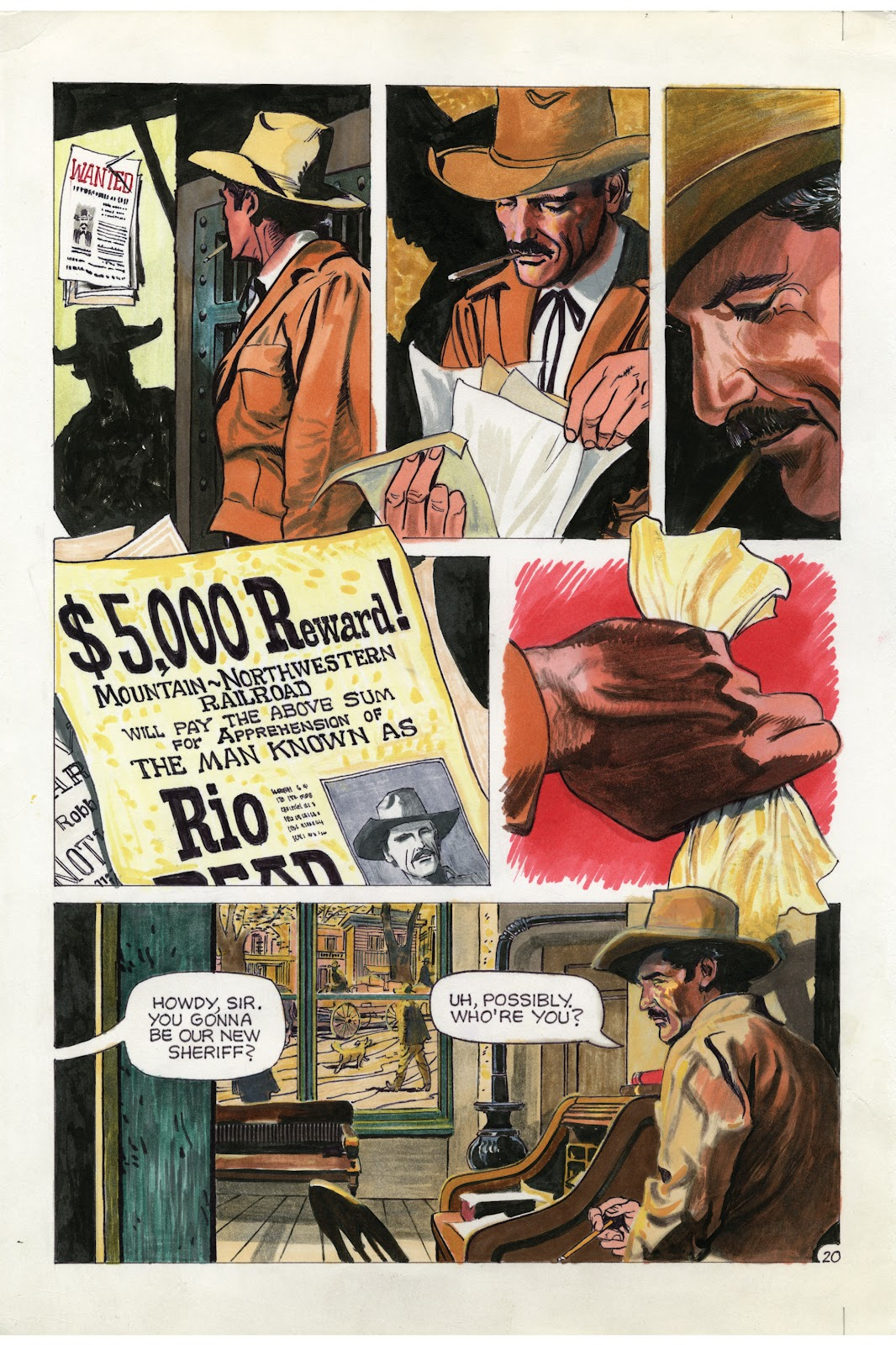 Read online Doug Wildey's Rio: The Complete Saga comic -  Issue # TPB (Part 1) - 86