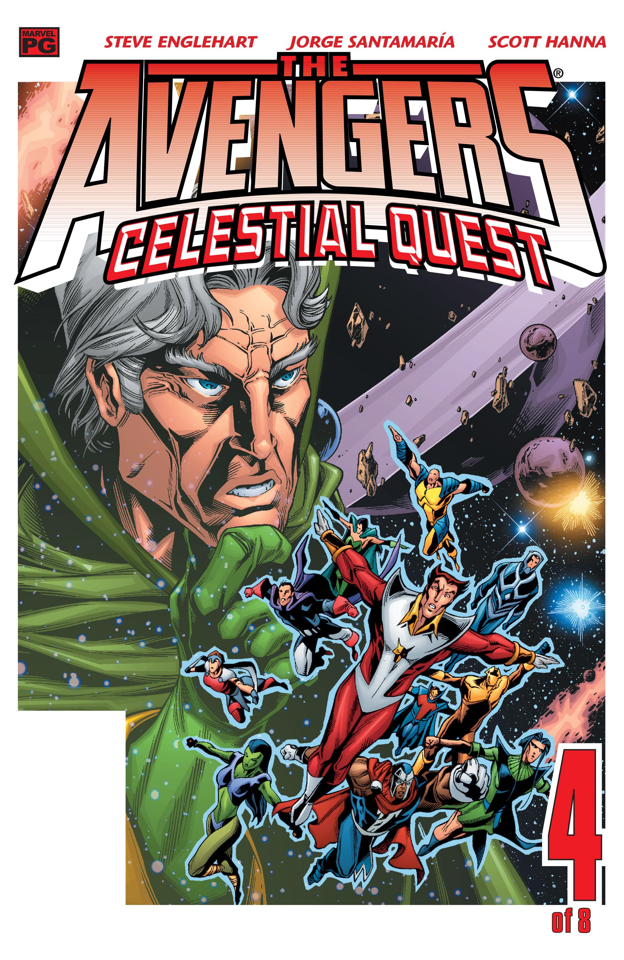 Avengers: Celestial Quest 4 Page 1
