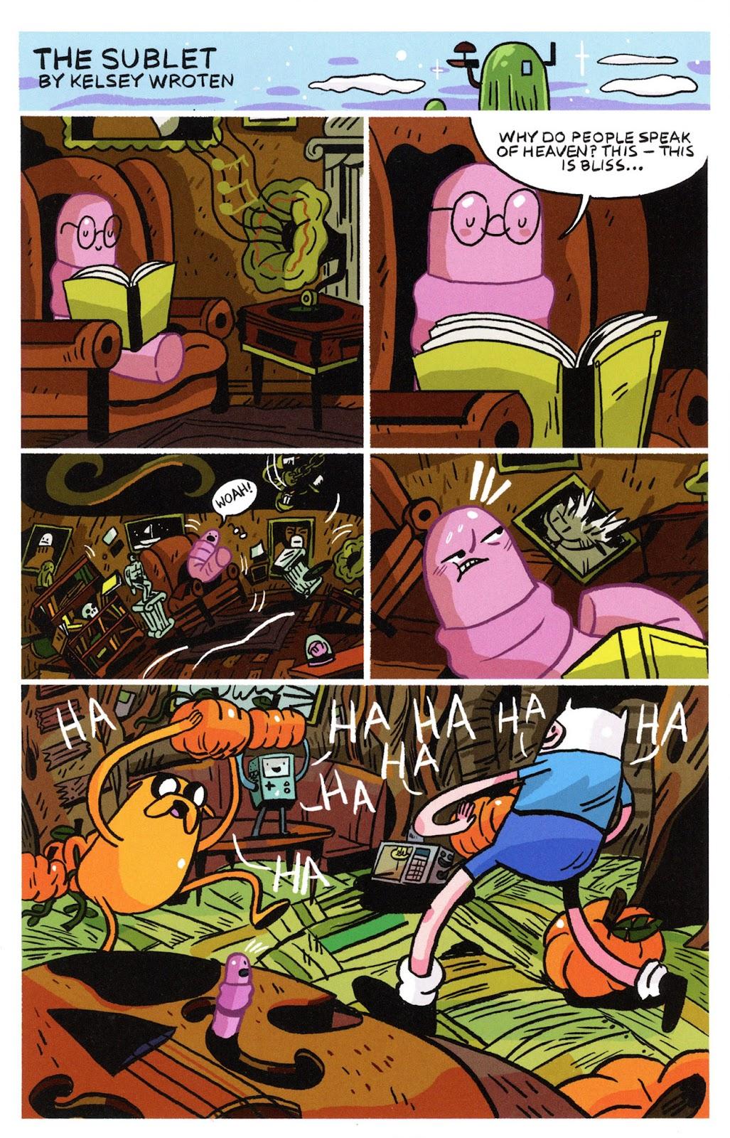 Read online Adventure Time Comics comic -  Issue #6 - 14