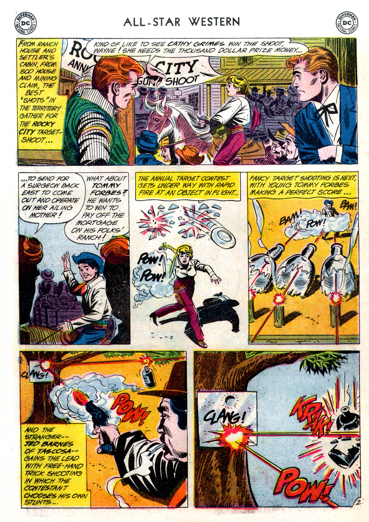 Read online All-Star Western (1951) comic -  Issue #116 - 26