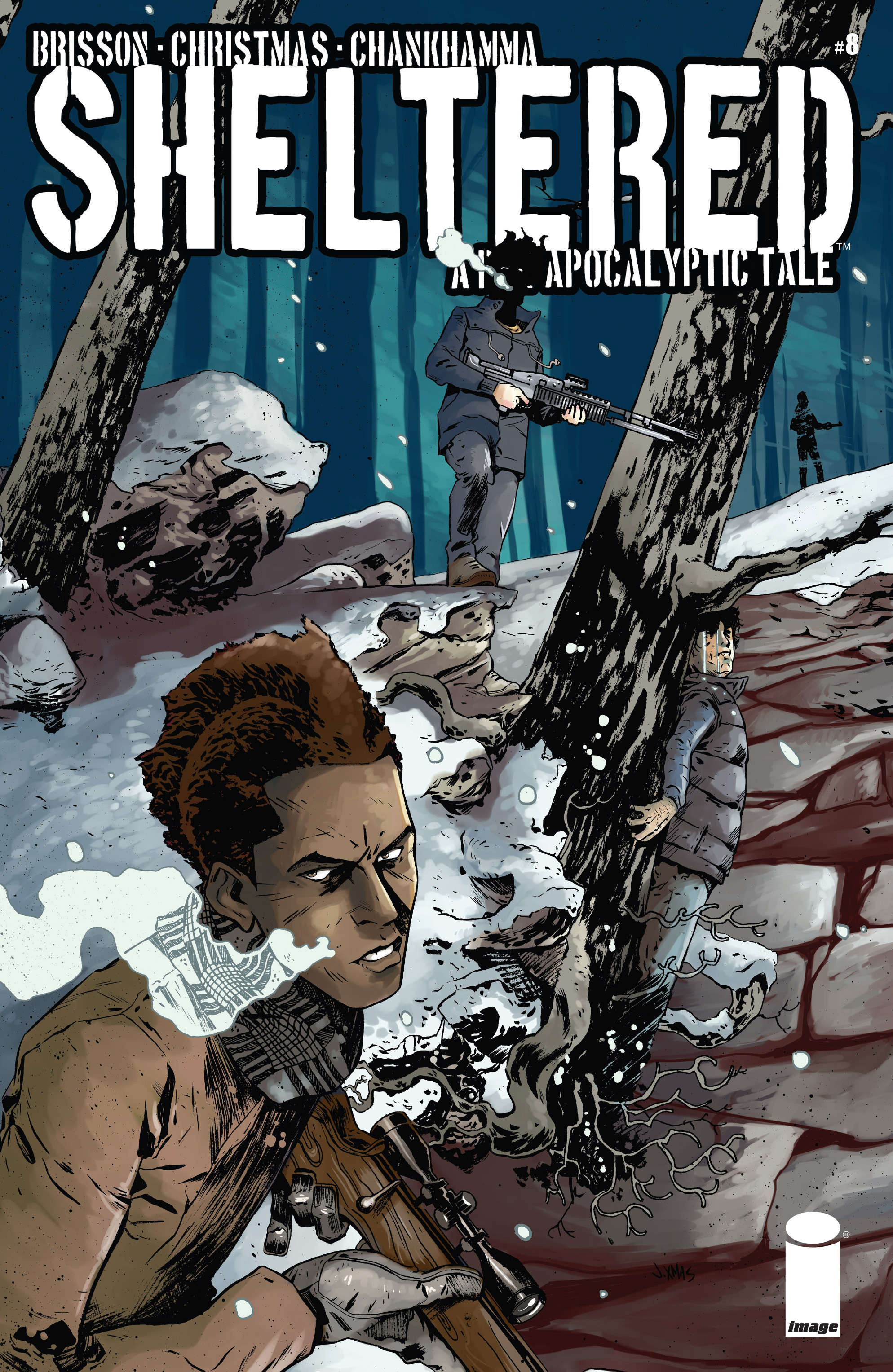 Read online Sheltered comic -  Issue #8 - 1