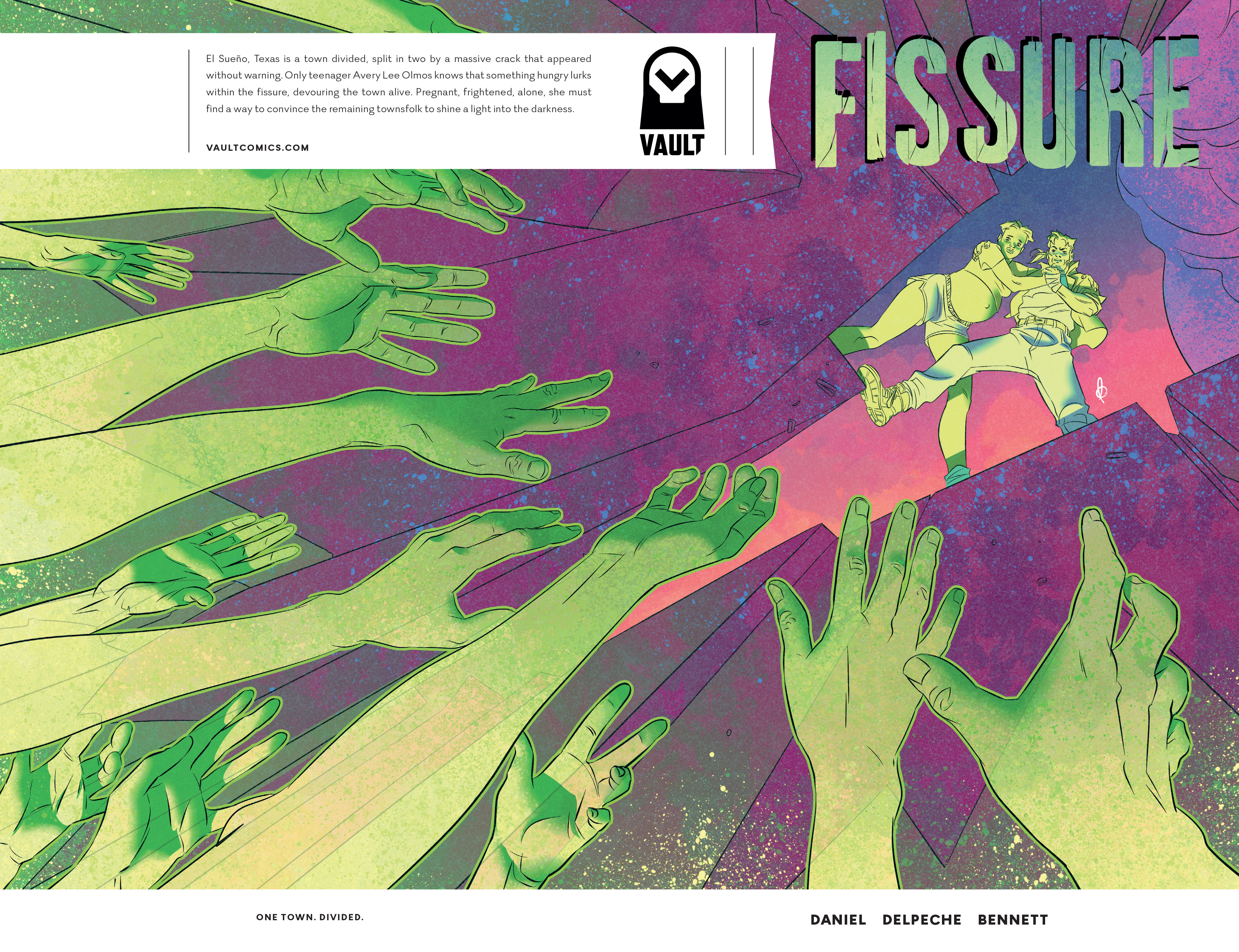 Read online Fissure comic -  Issue #2 - 1