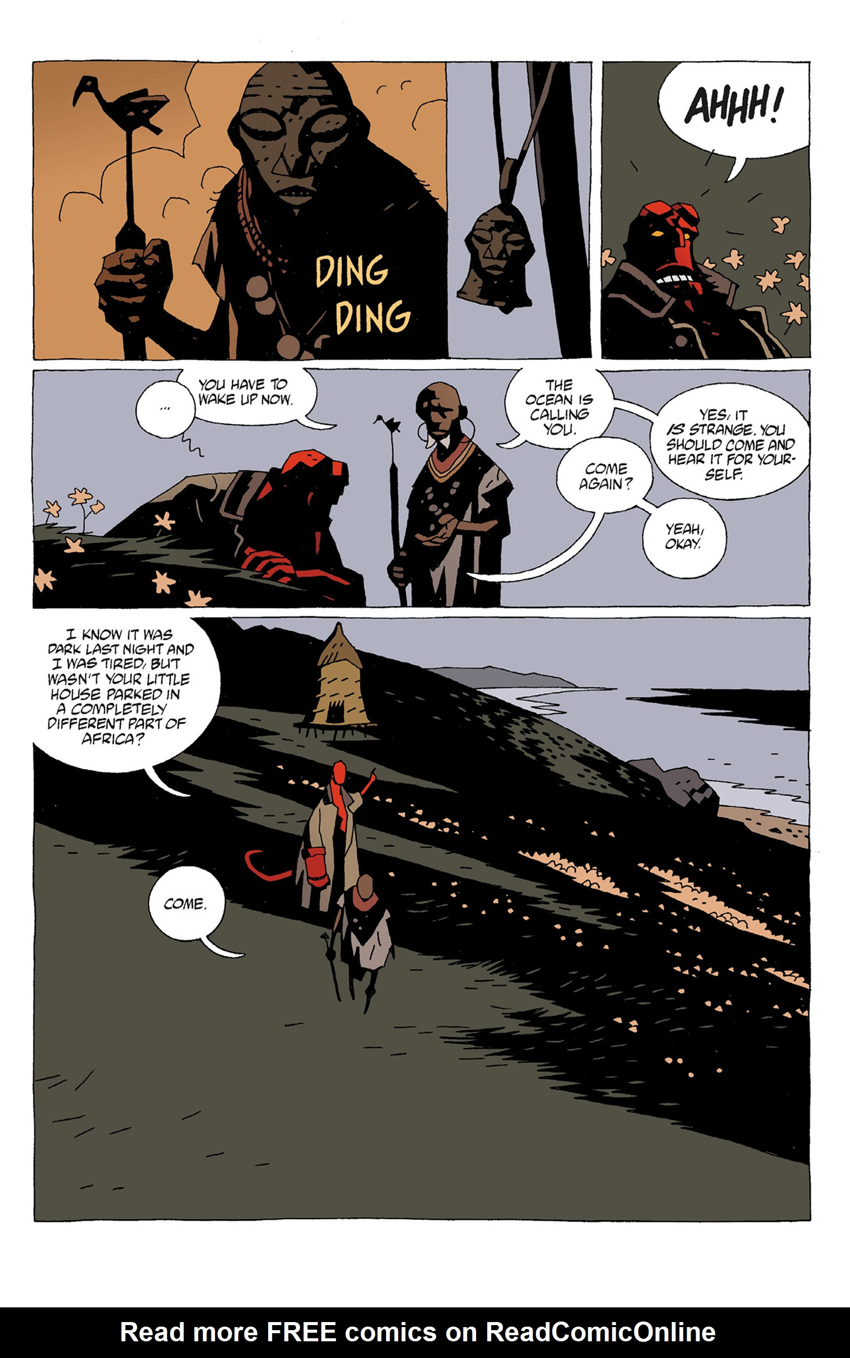 Read online Hellboy: Strange Places comic -  Issue # TPB - 17