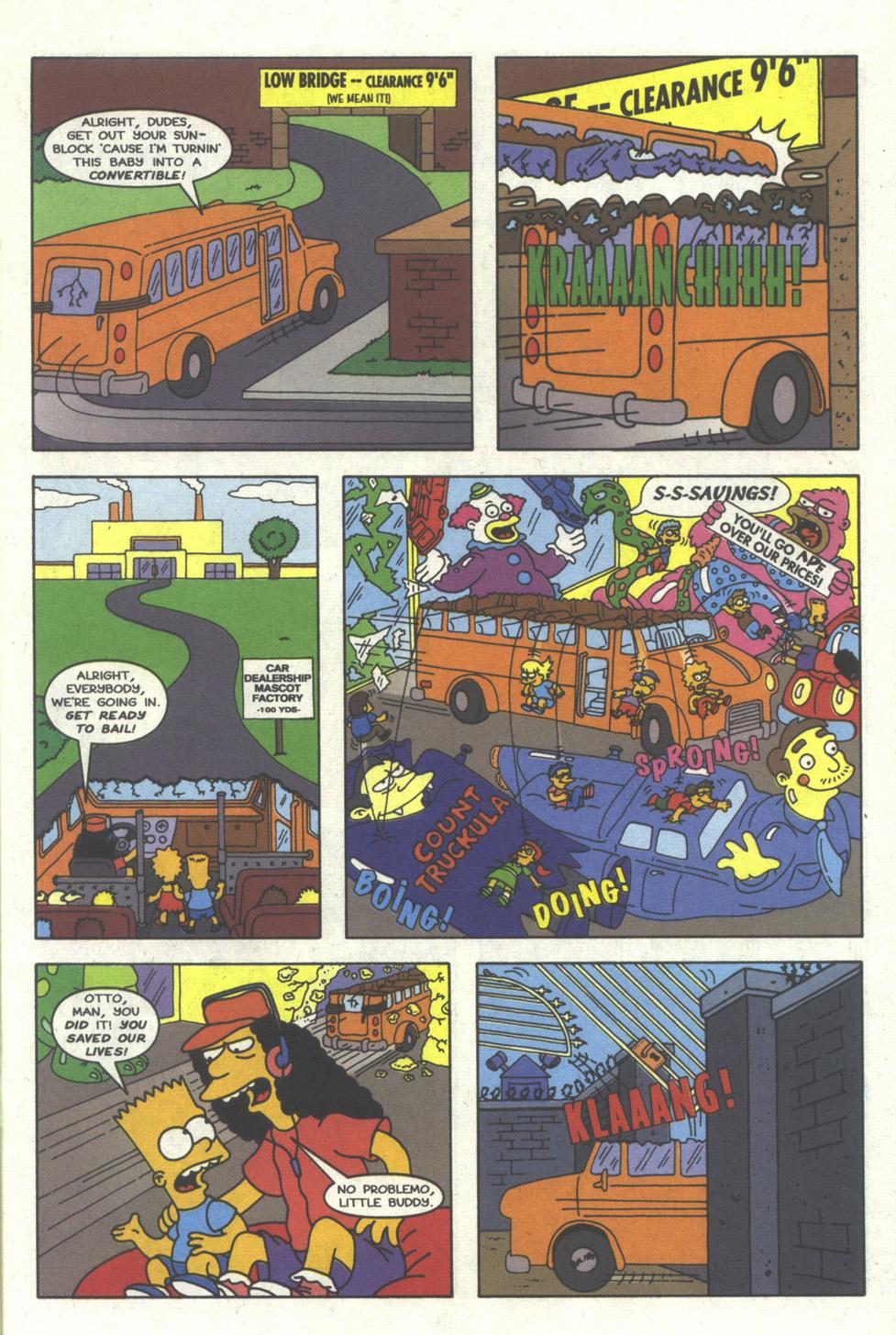 Read online Simpsons Comics comic -  Issue #26 - 20
