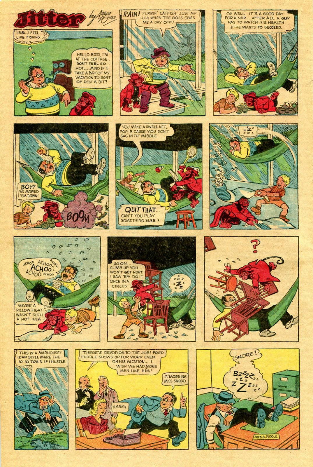 Read online Famous Funnies comic -  Issue #130 - 20