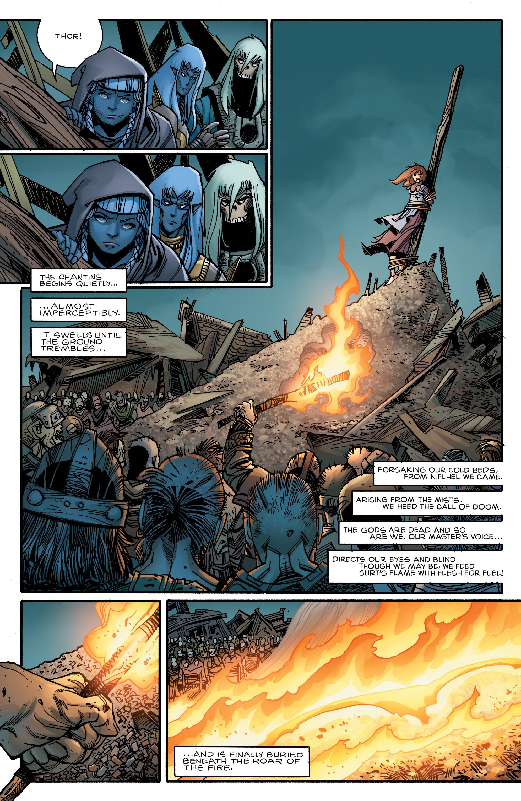 Read online Ragnarok comic -  Issue #10 - 14