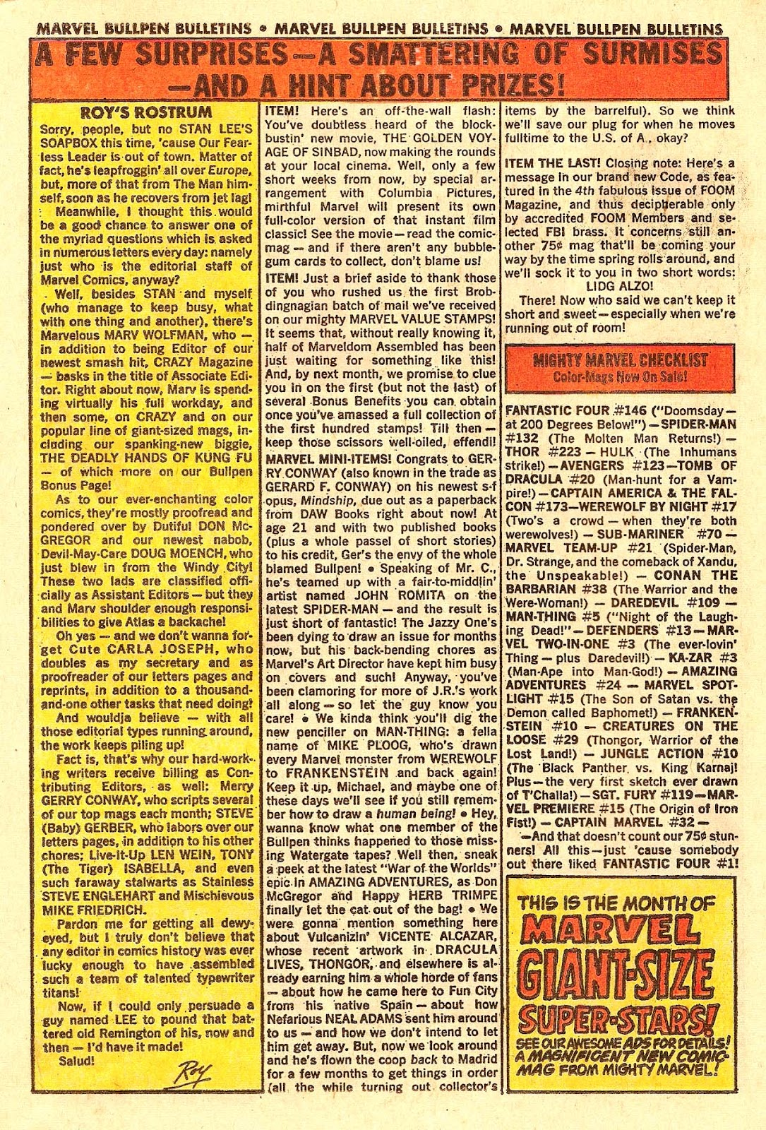 Marvel Triple Action (1972) issue 18 - Page 22