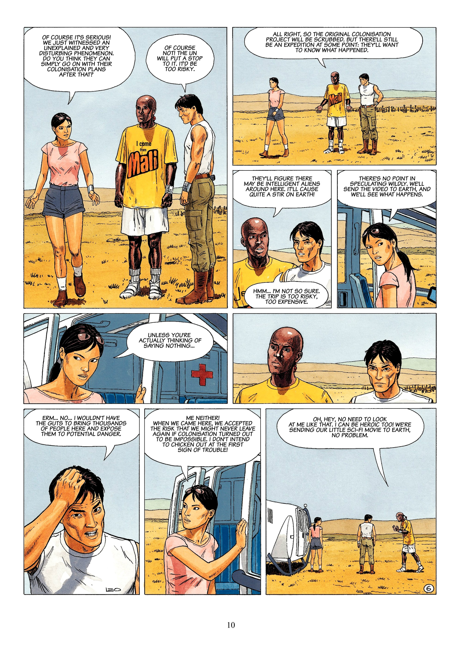 Read online Antares comic -  Issue #1 - 8
