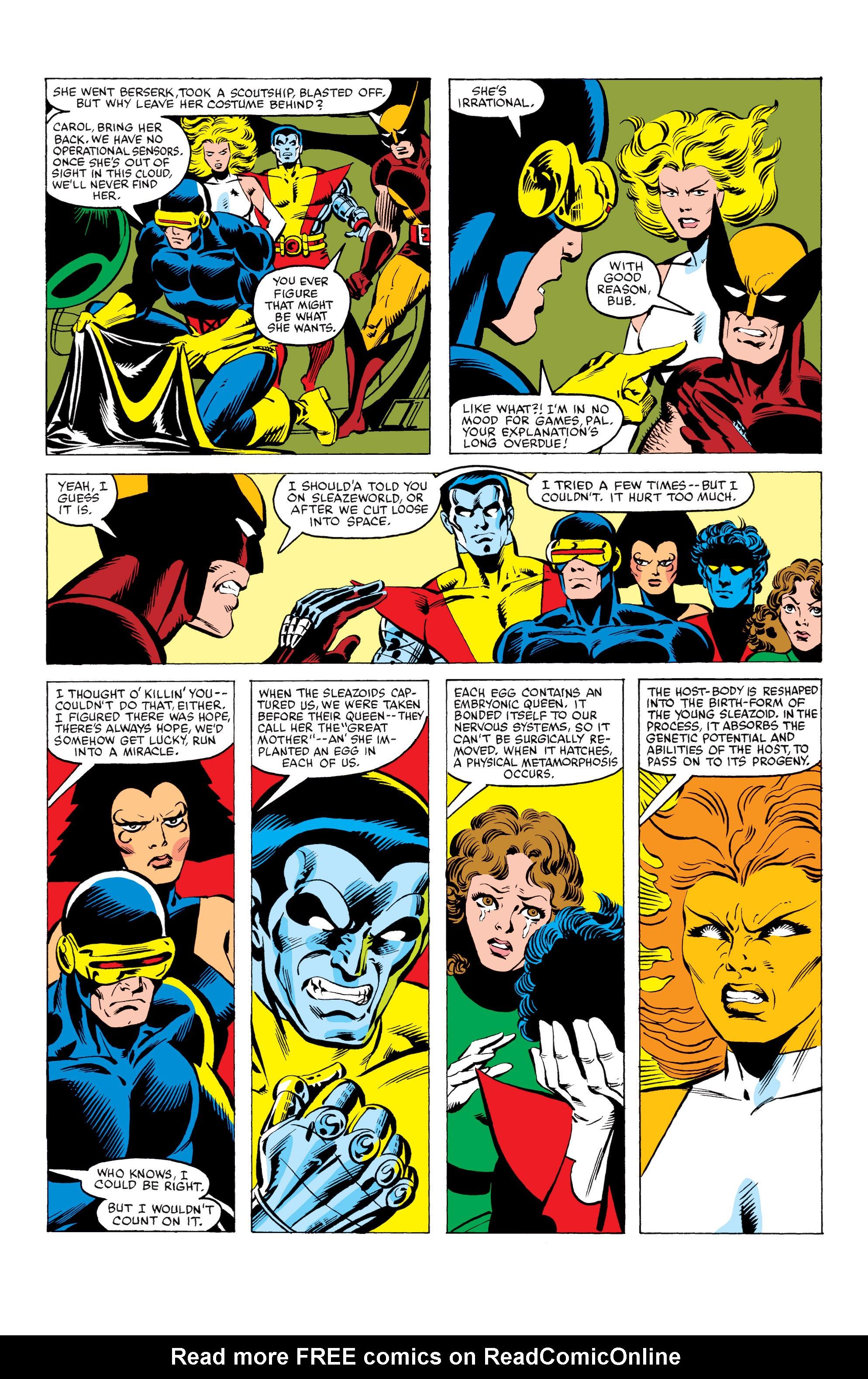 Read online Uncanny X-Men (1963) comic -  Issue #164 - 22