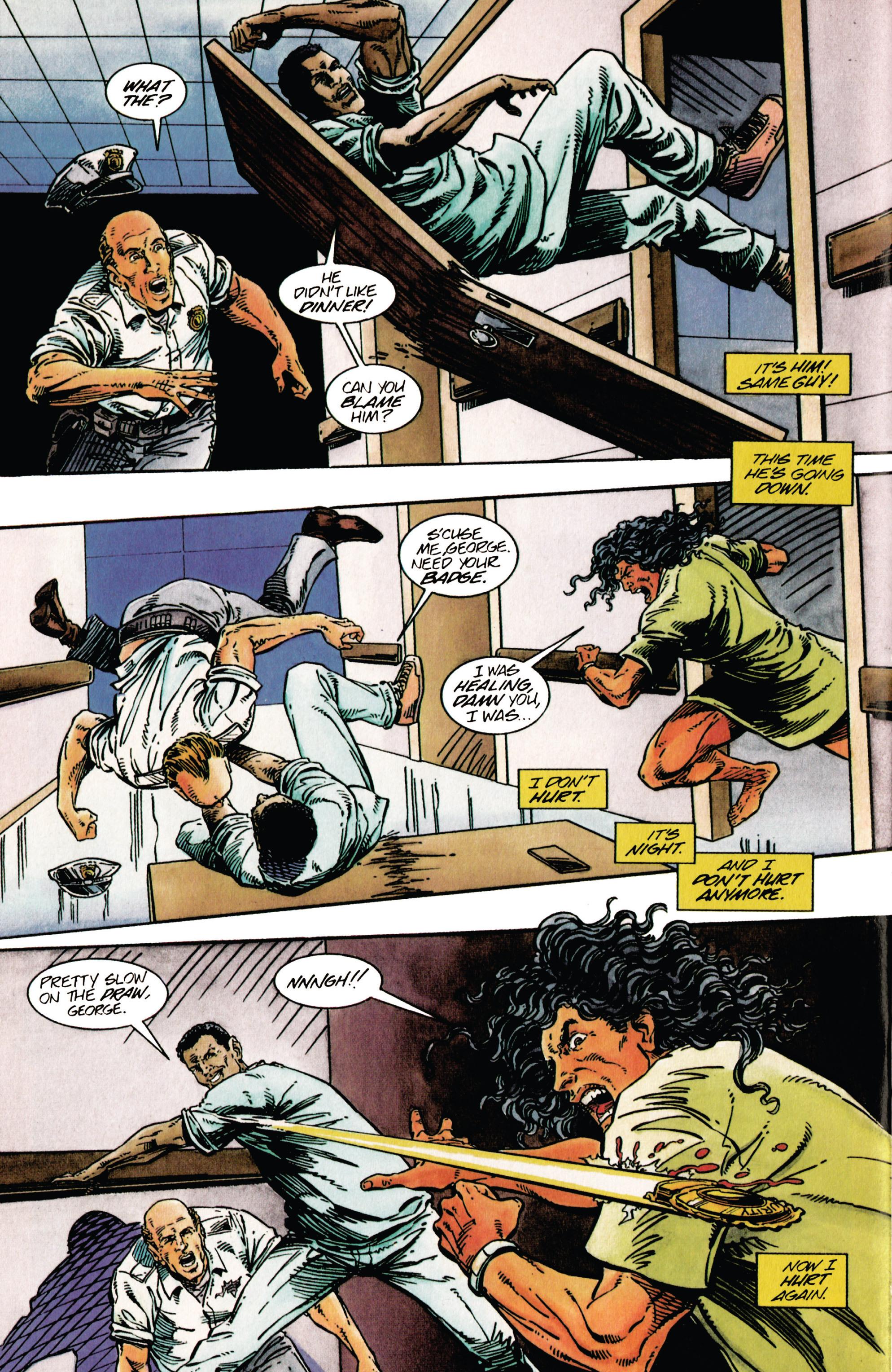 Read online Shadowman (1992) comic -  Issue #27 - 17