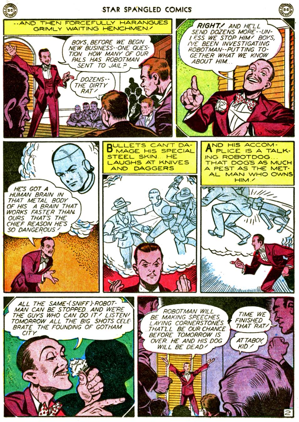 Star Spangled Comics (1941) issue 56 - Page 16
