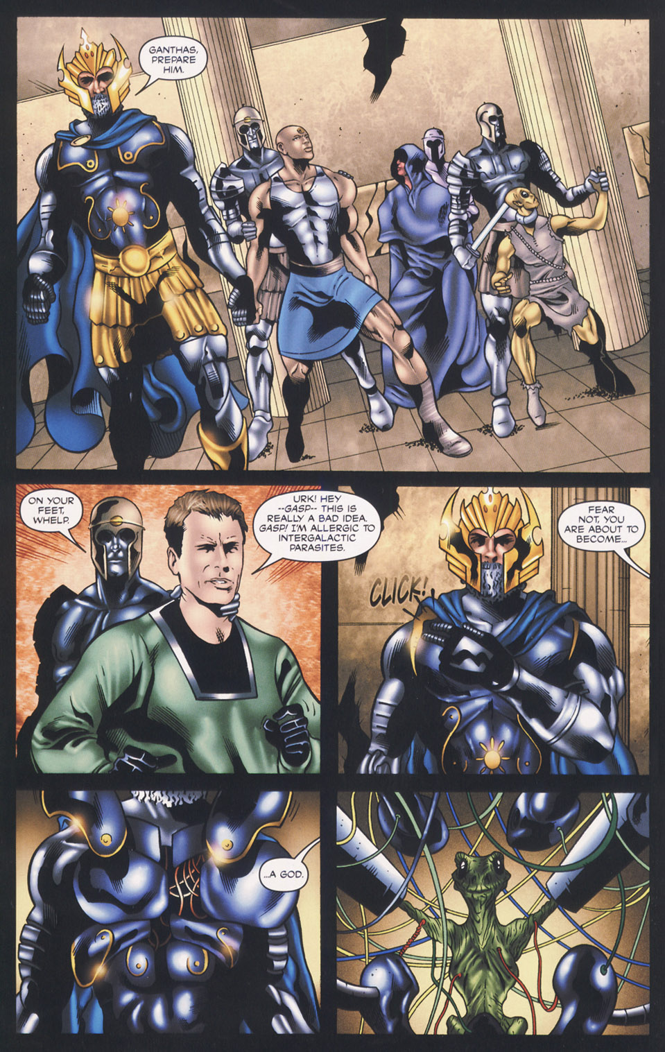 Read online Stargate SG-1: Fall of Rome comic -  Issue #3 - 18