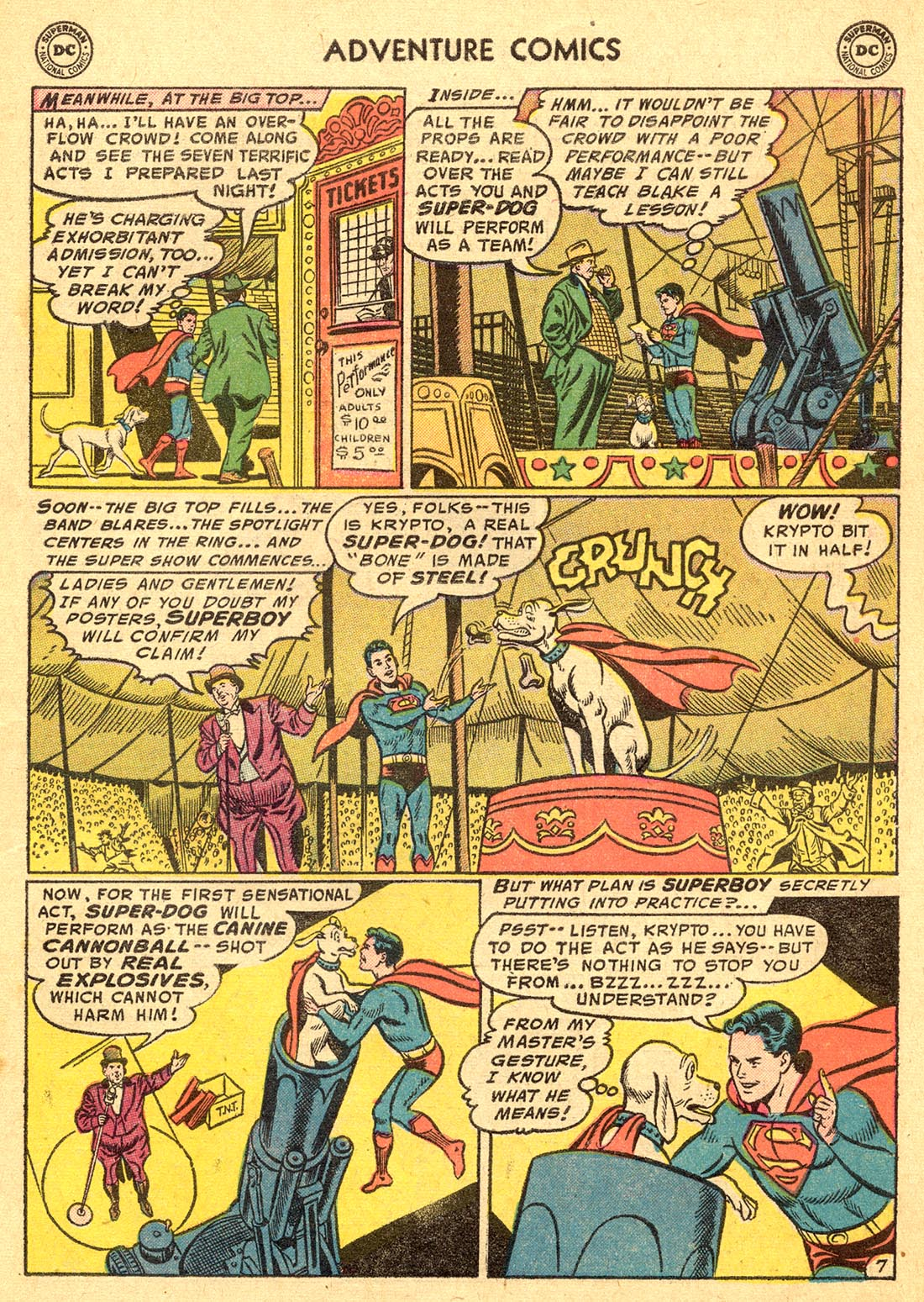 Read online Adventure Comics (1938) comic -  Issue #220 - 9