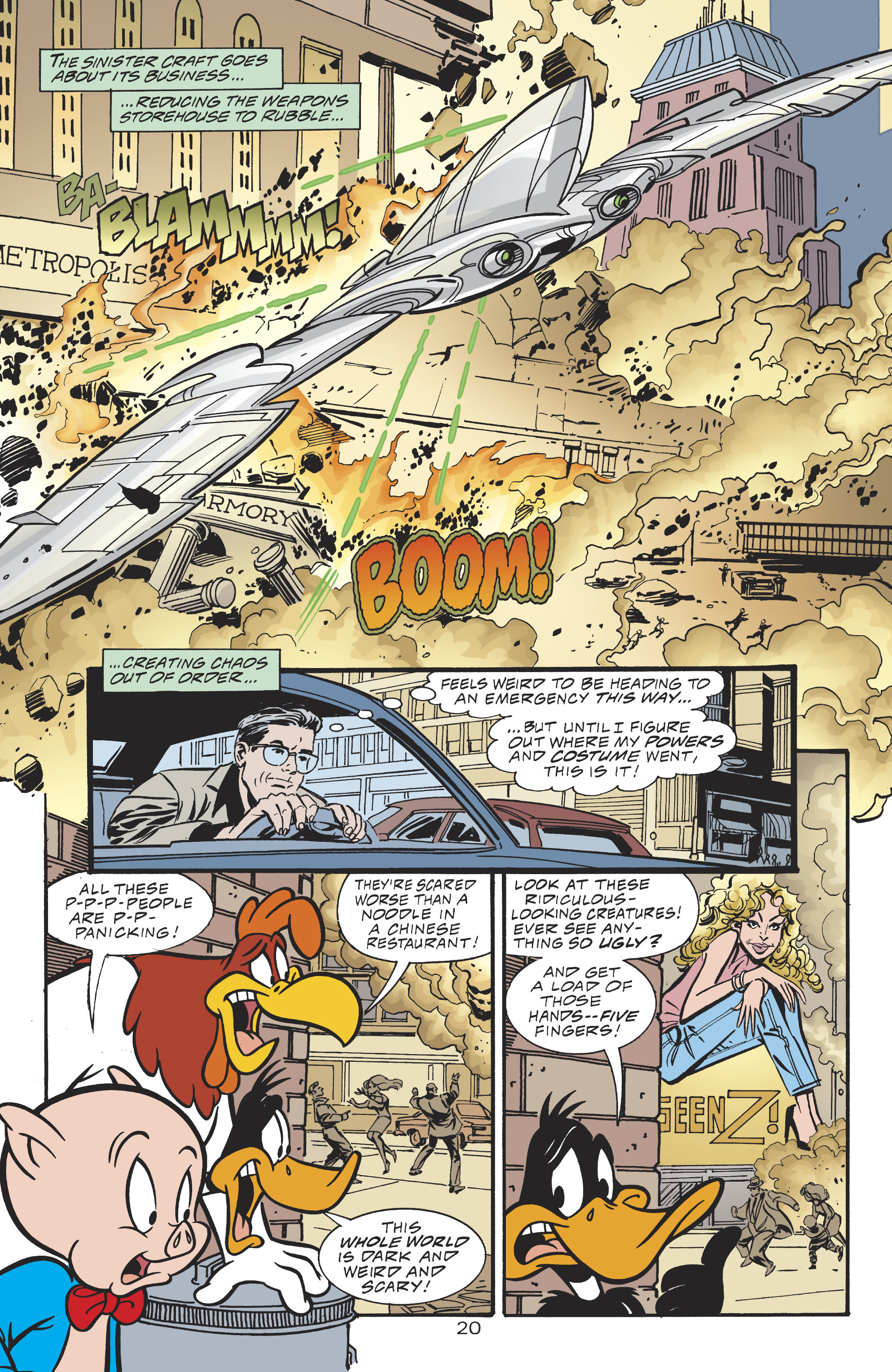 Read online DC/Looney Tunes 100-Page Super Spectacular comic -  Issue # Full - 45