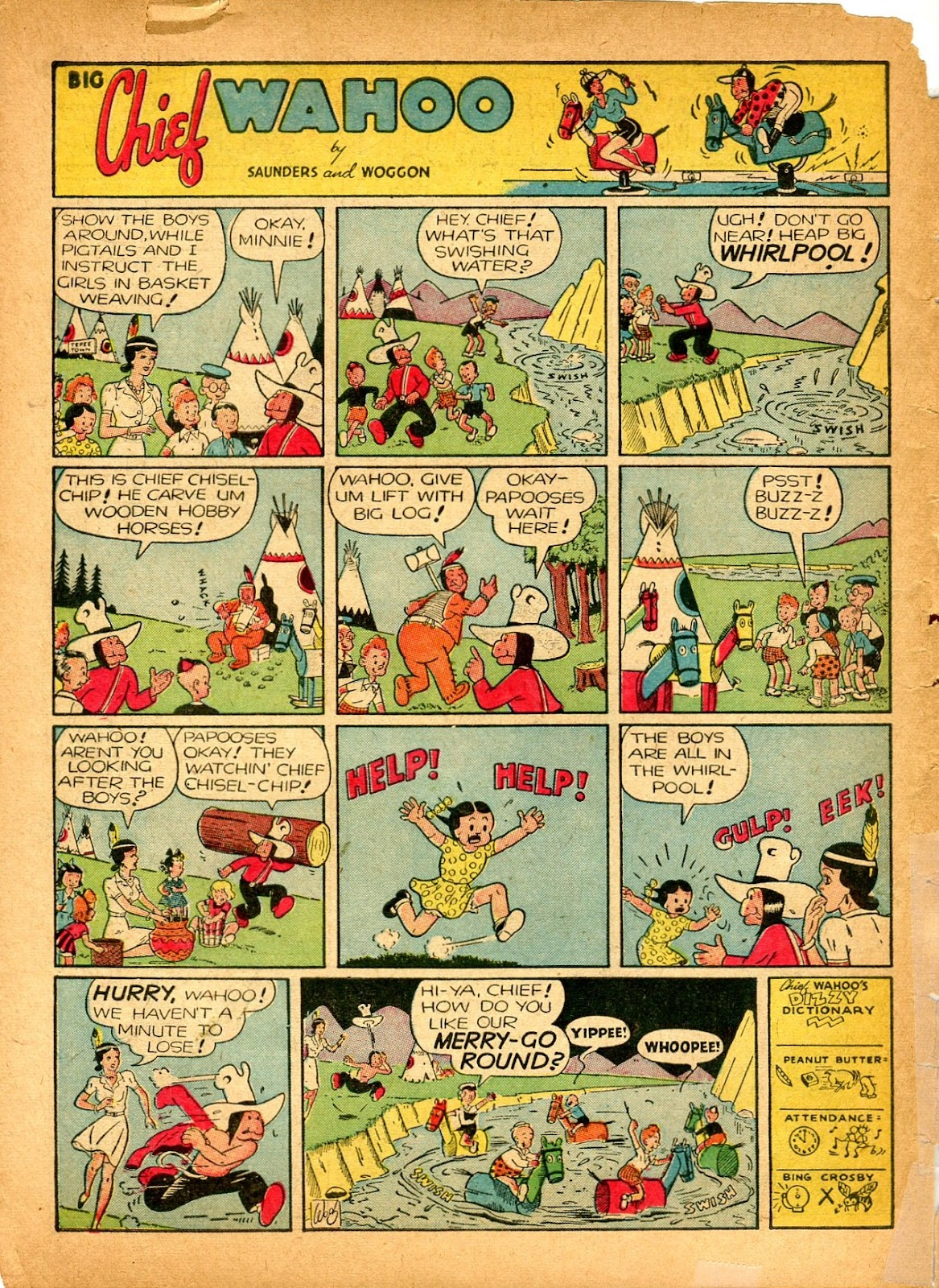 Read online Famous Funnies comic -  Issue #84 - 64