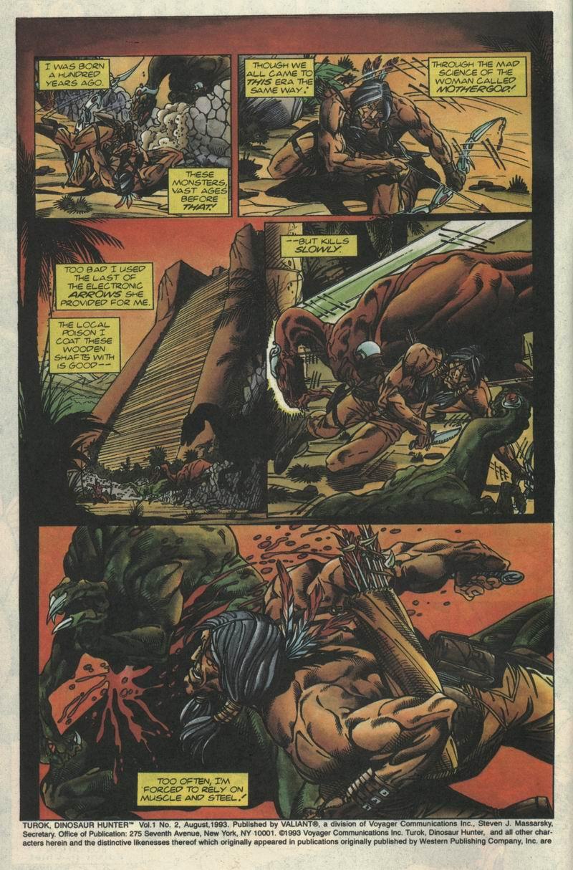Read online Turok, Dinosaur Hunter (1993) comic -  Issue #2 - 3