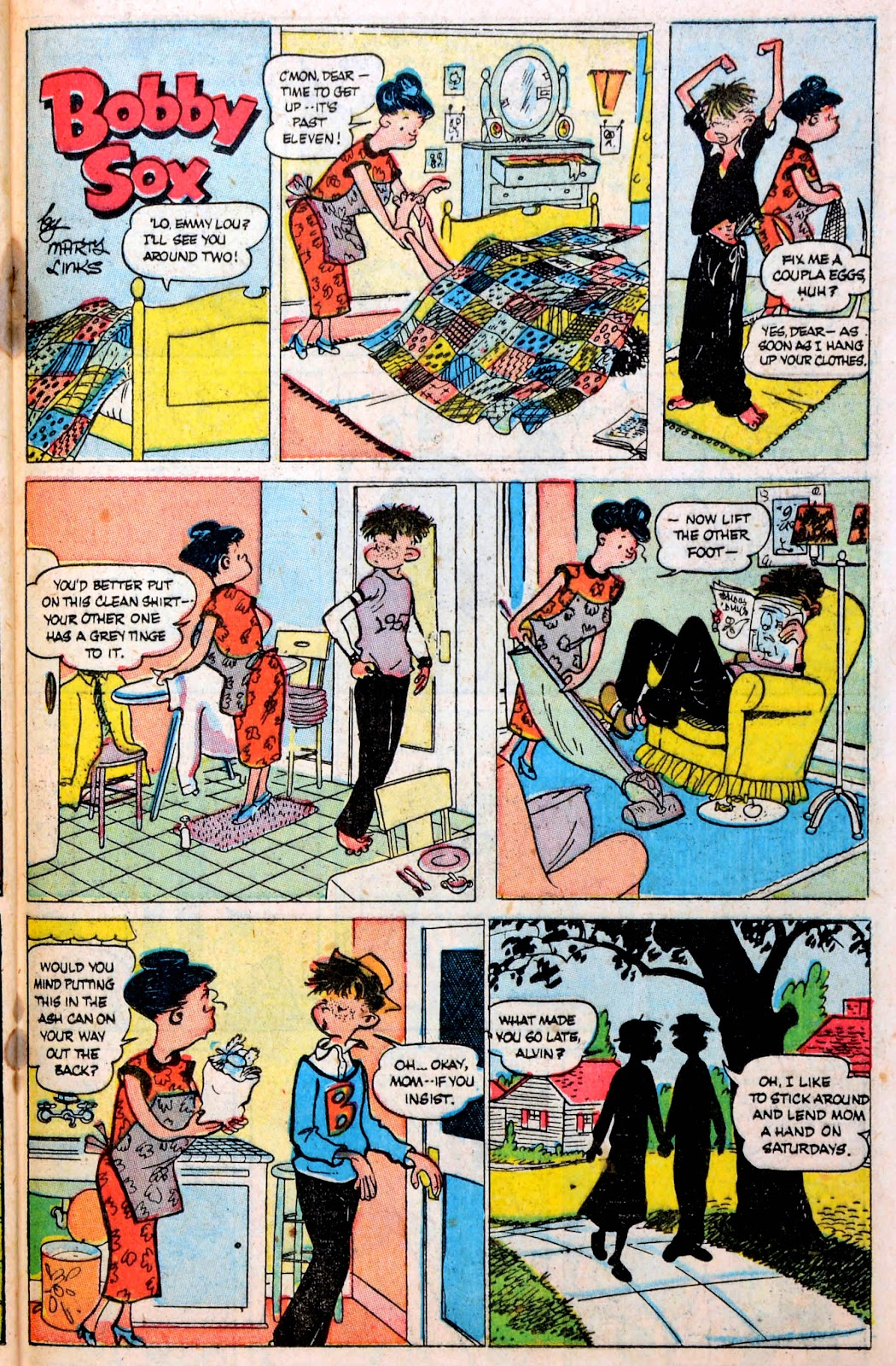 Read online Famous Funnies comic -  Issue #194 - 35