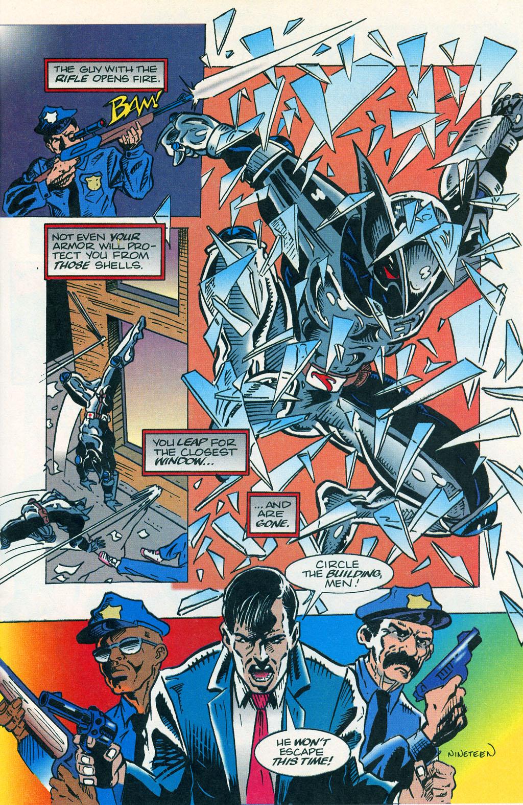 Read online ShadowHawk comic -  Issue #1 - 23