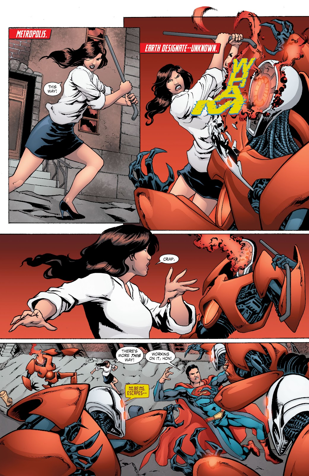 Read online Smallville Season 11 [II] comic -  Issue # TPB 8 - 73