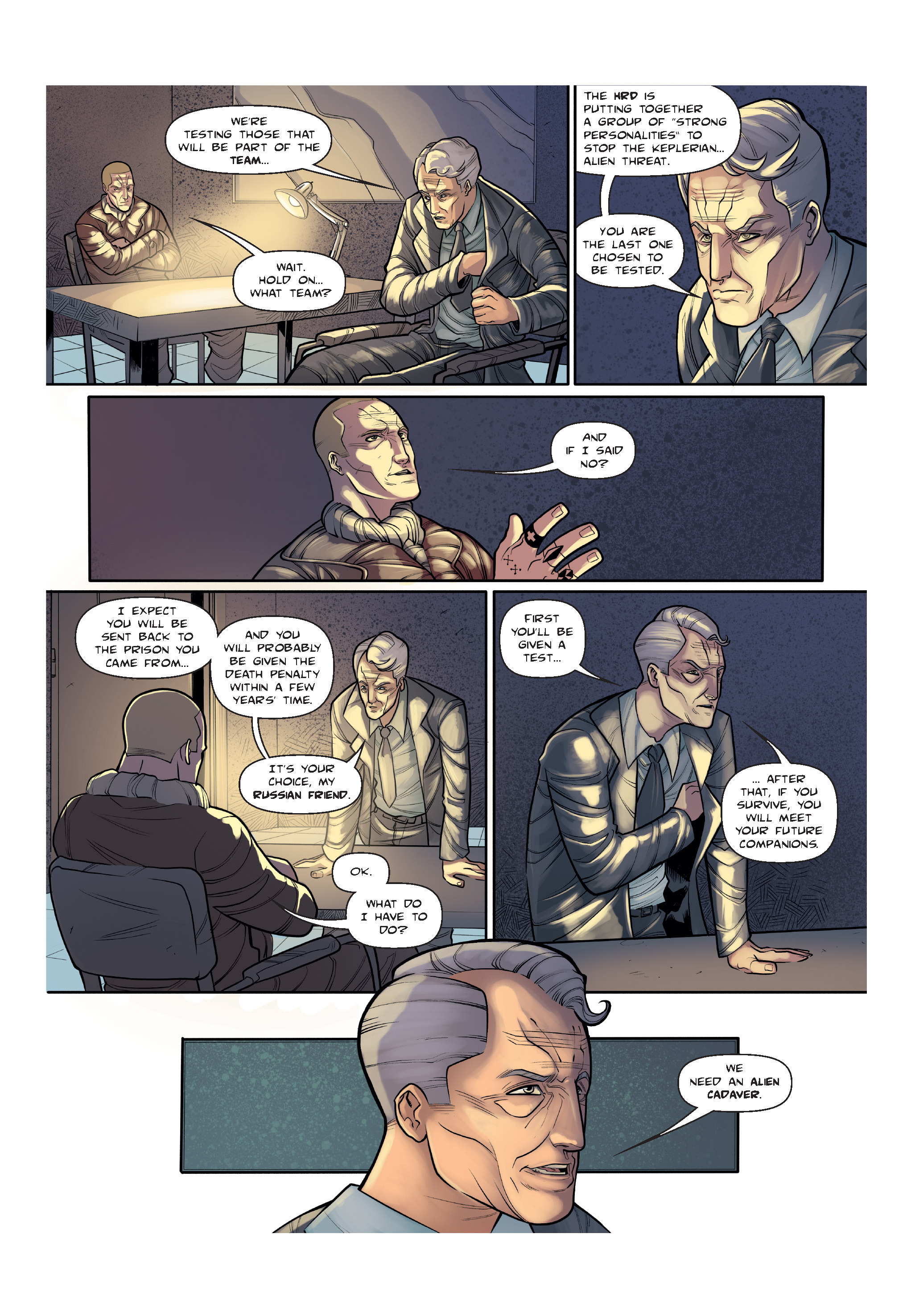Read online The Shadow of a Terrible Thing comic -  Issue # TPB - 18