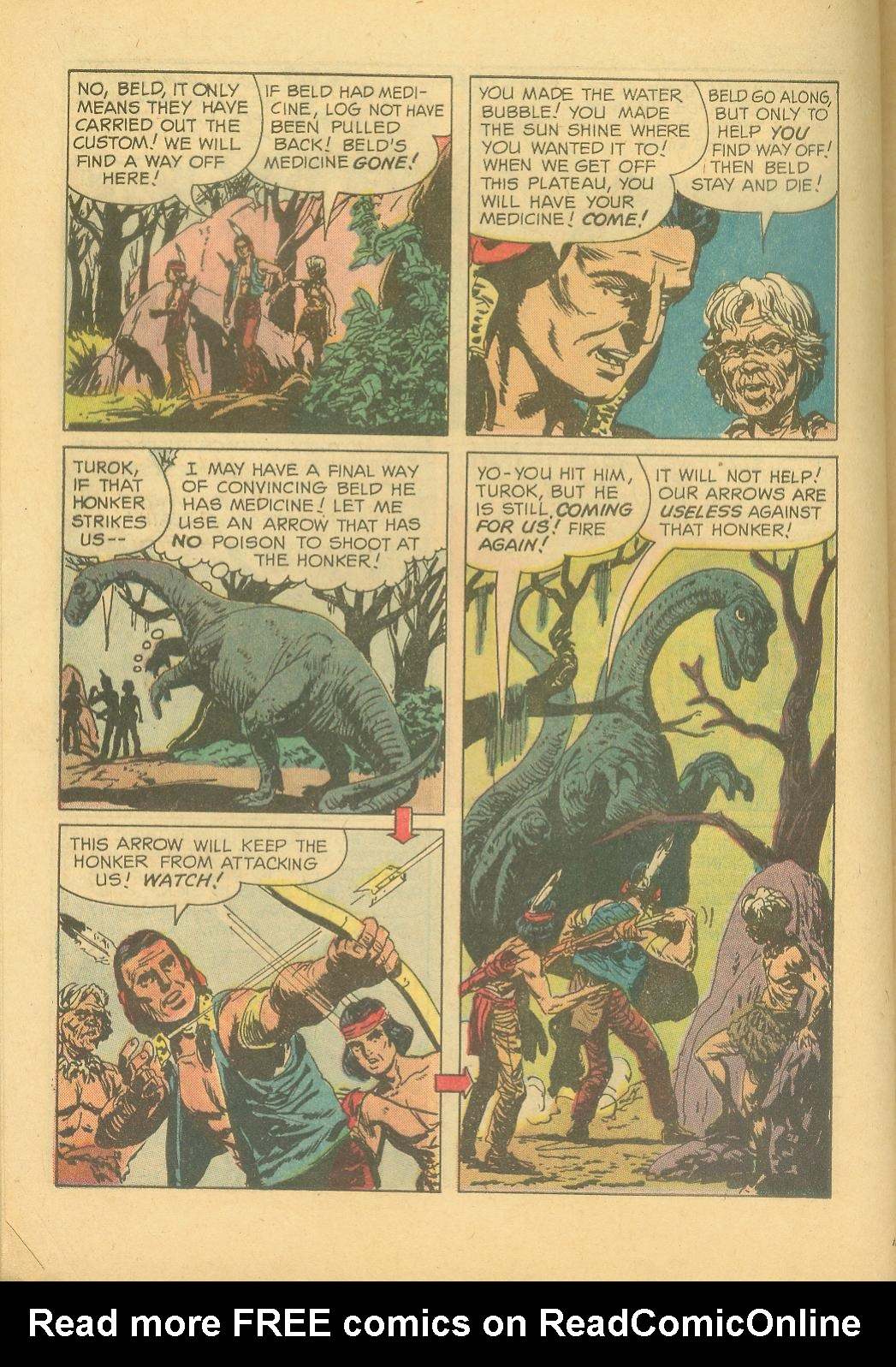 Read online Turok, Son of Stone comic -  Issue #28 - 28