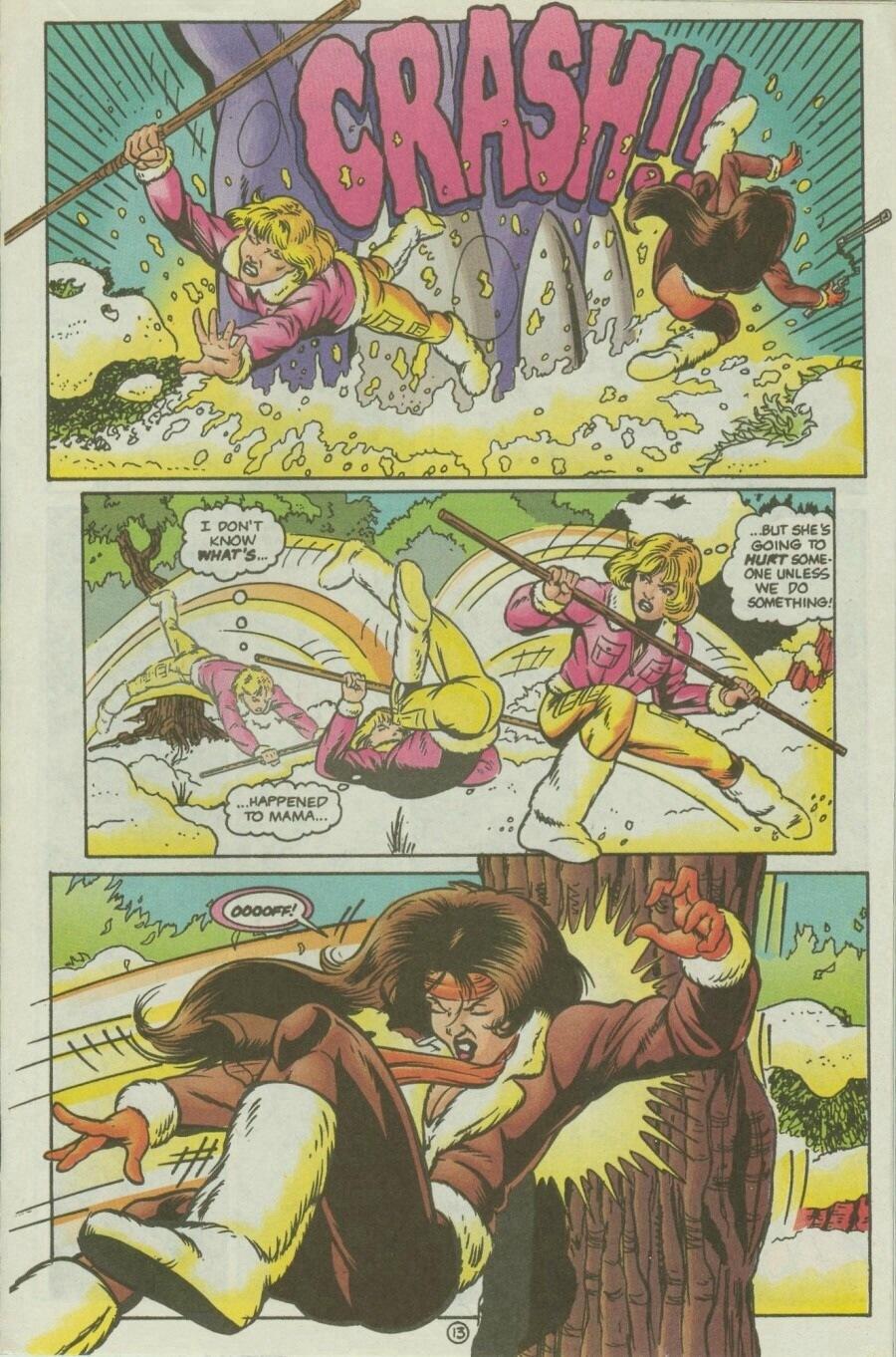 Read online Ex-Mutants comic -  Issue #10 - 16