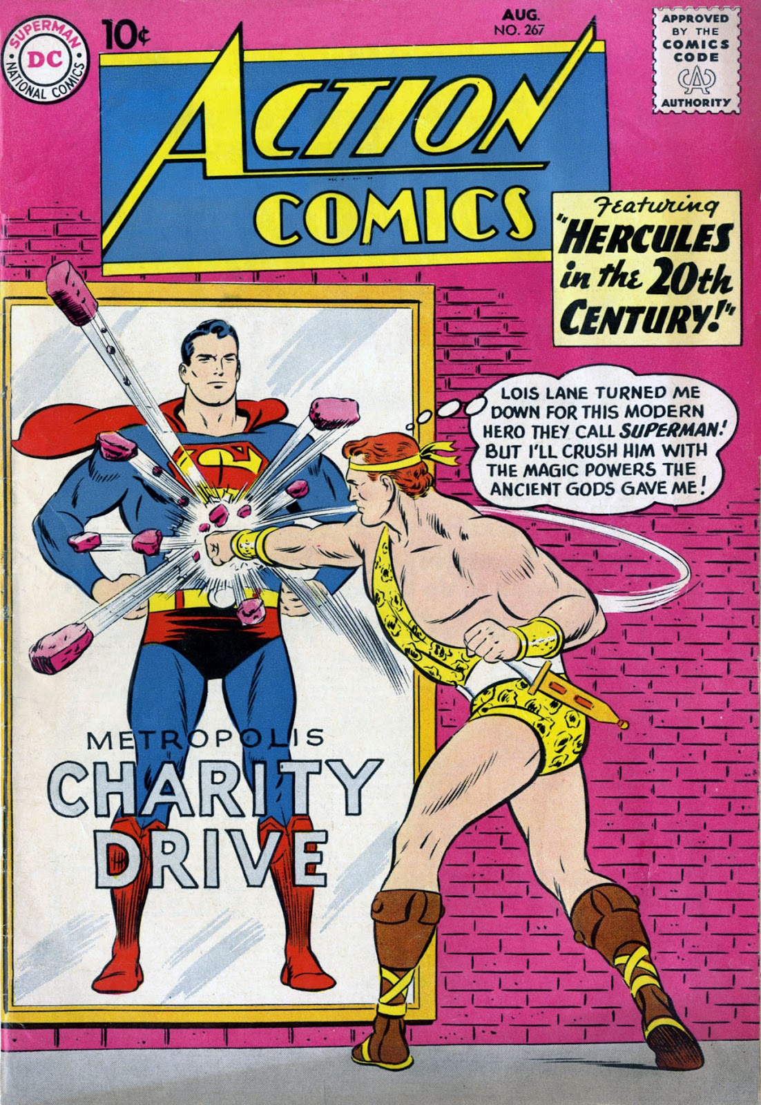 Action Comics (1938) 267 Page 1