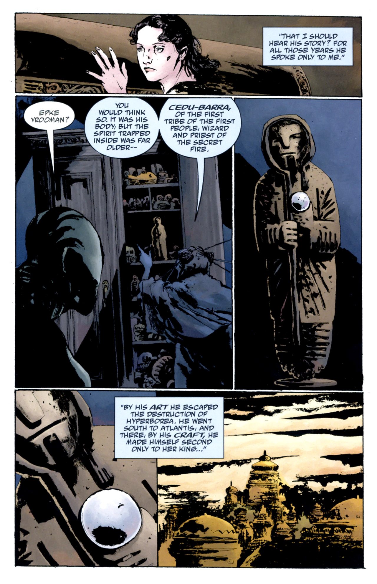 Read online Abe Sapien: The Drowning comic -  Issue #4 - 16