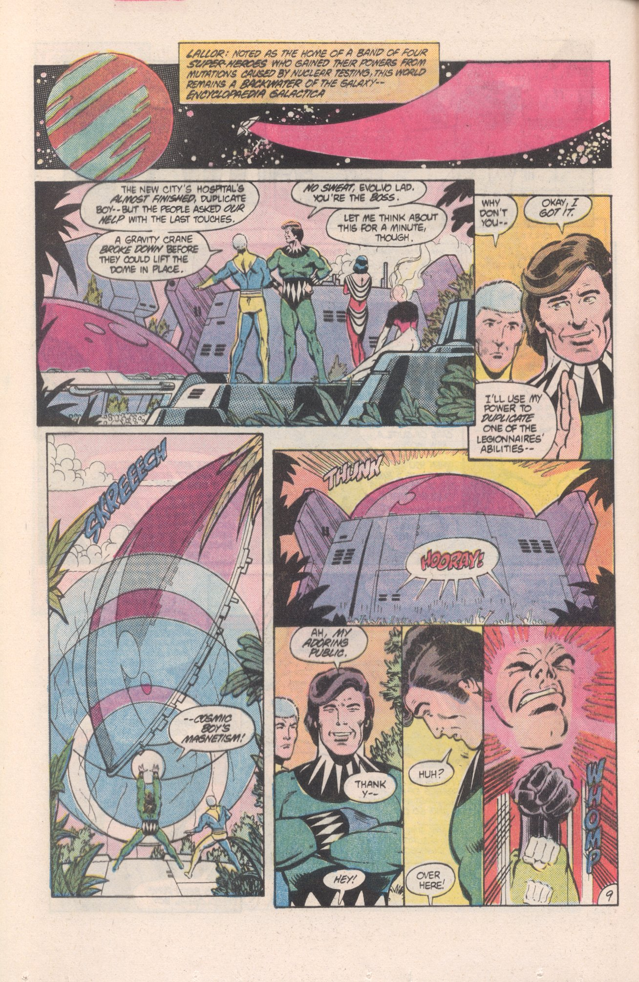 Legion of Super-Heroes (1980) 313 Page 9