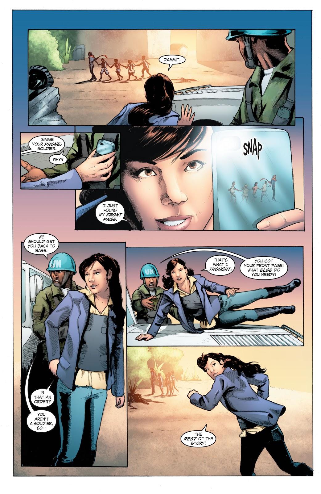 Read online Smallville Season 11 [II] comic -  Issue # TPB 4 - 116