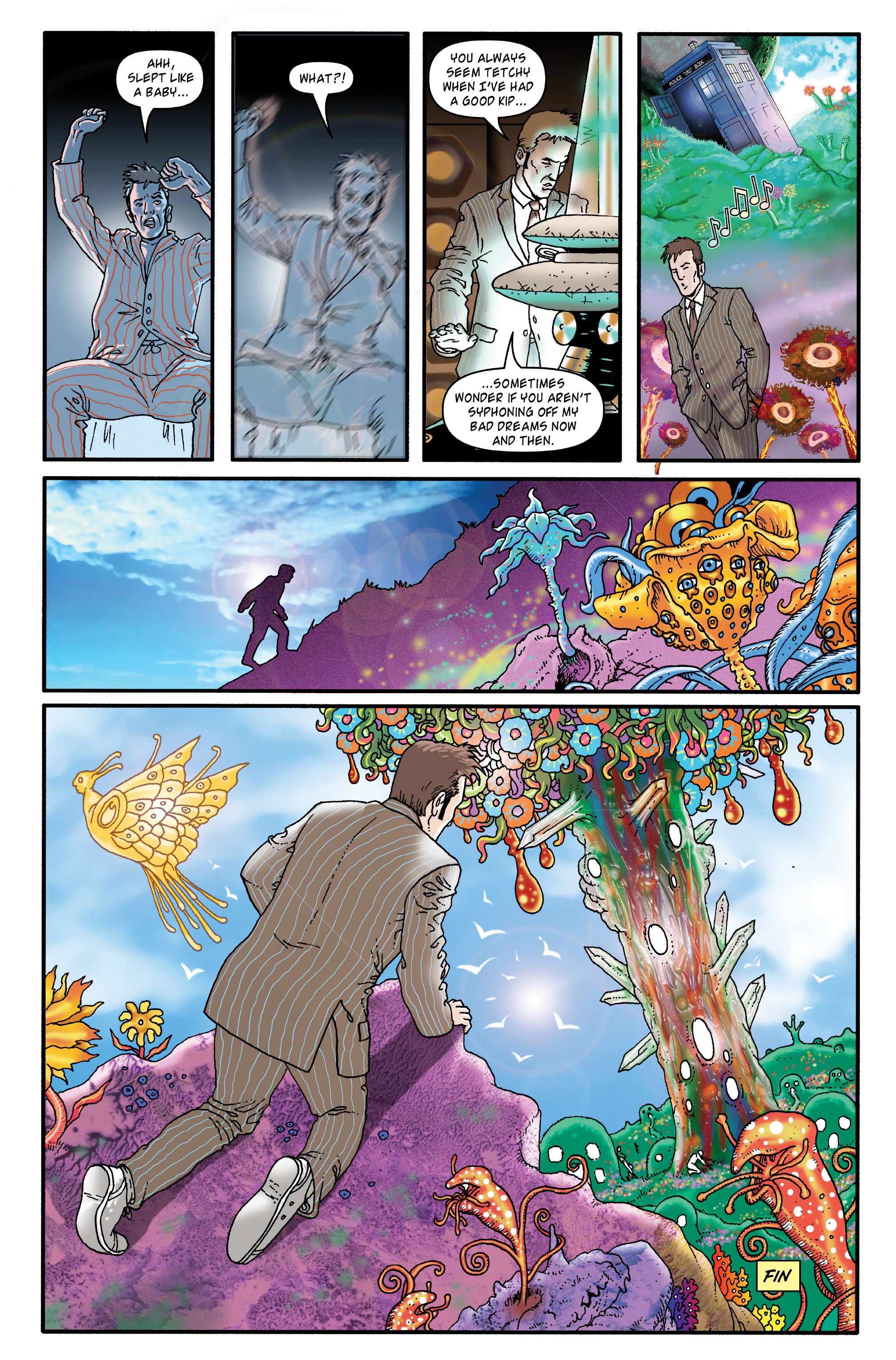 Read online Doctor Who: The Tenth Doctor Archives comic -  Issue #35 - 46