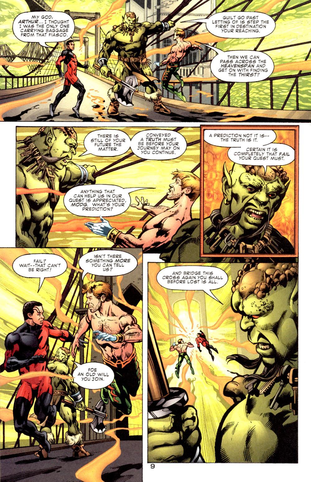 Read online Aquaman (2003) comic -  Issue #6 - 11