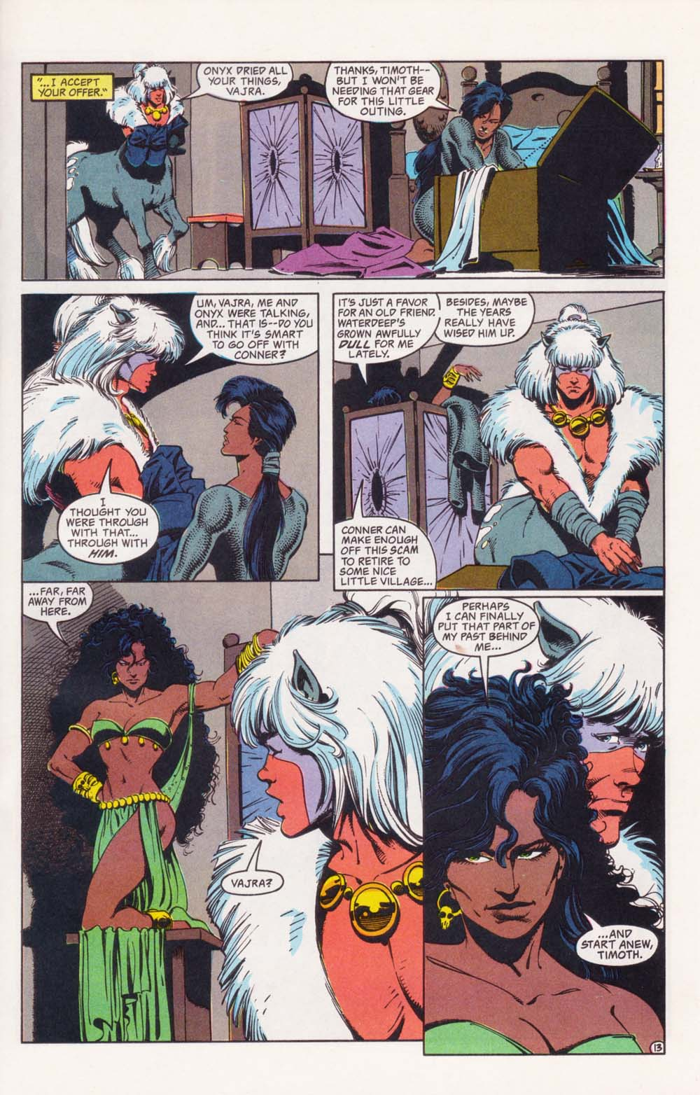 Read online Advanced Dungeons & Dragons comic -  Issue #34 - 13