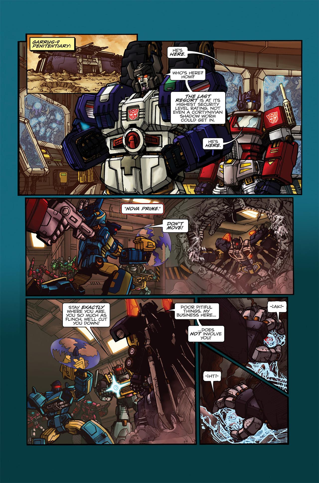 Read online Transformers Spotlight: Doubledealer comic -  Issue # Full - 10