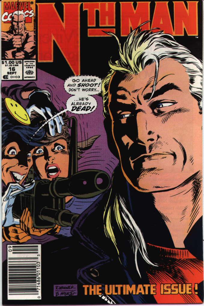 Nth Man the Ultimate Ninja 16 Page 1