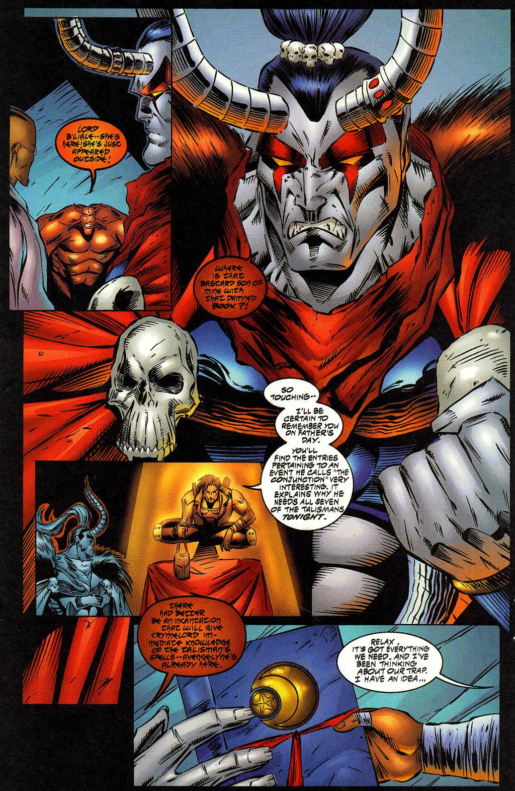 Read online Avengelyne (1996) comic -  Issue #12 - 12