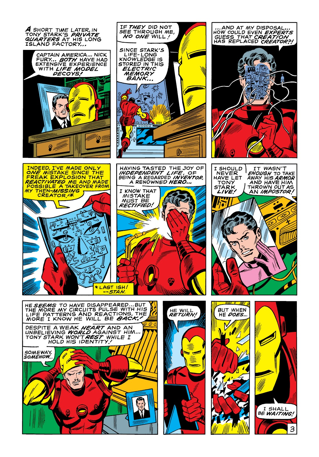 Read online Marvel Masterworks: The Invincible Iron Man comic -  Issue # TPB 6 (Part 1) - 93