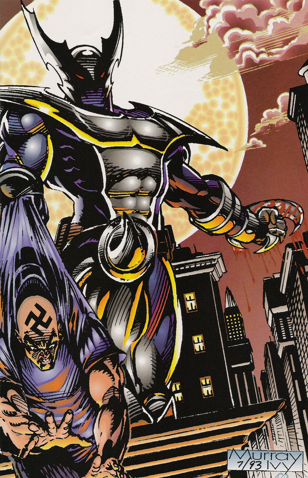 Read online ShadowHawk Gallery comic -  Issue # Full - 13