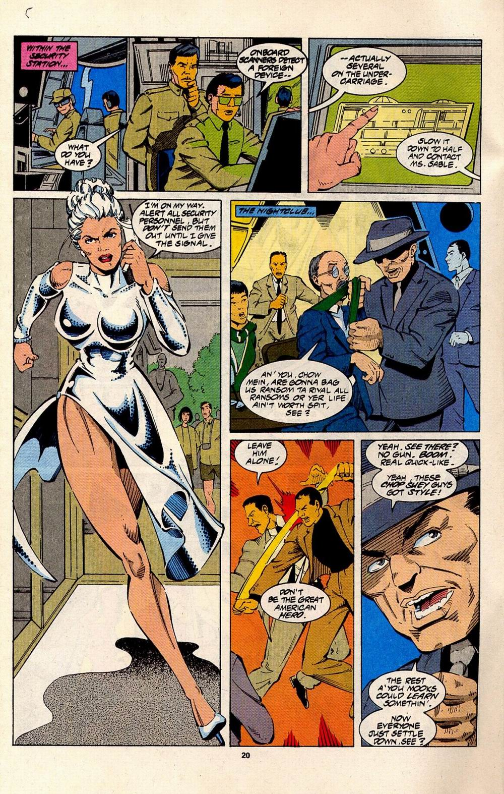 Read online Silver Sable and the Wild Pack comic -  Issue #31 - 17