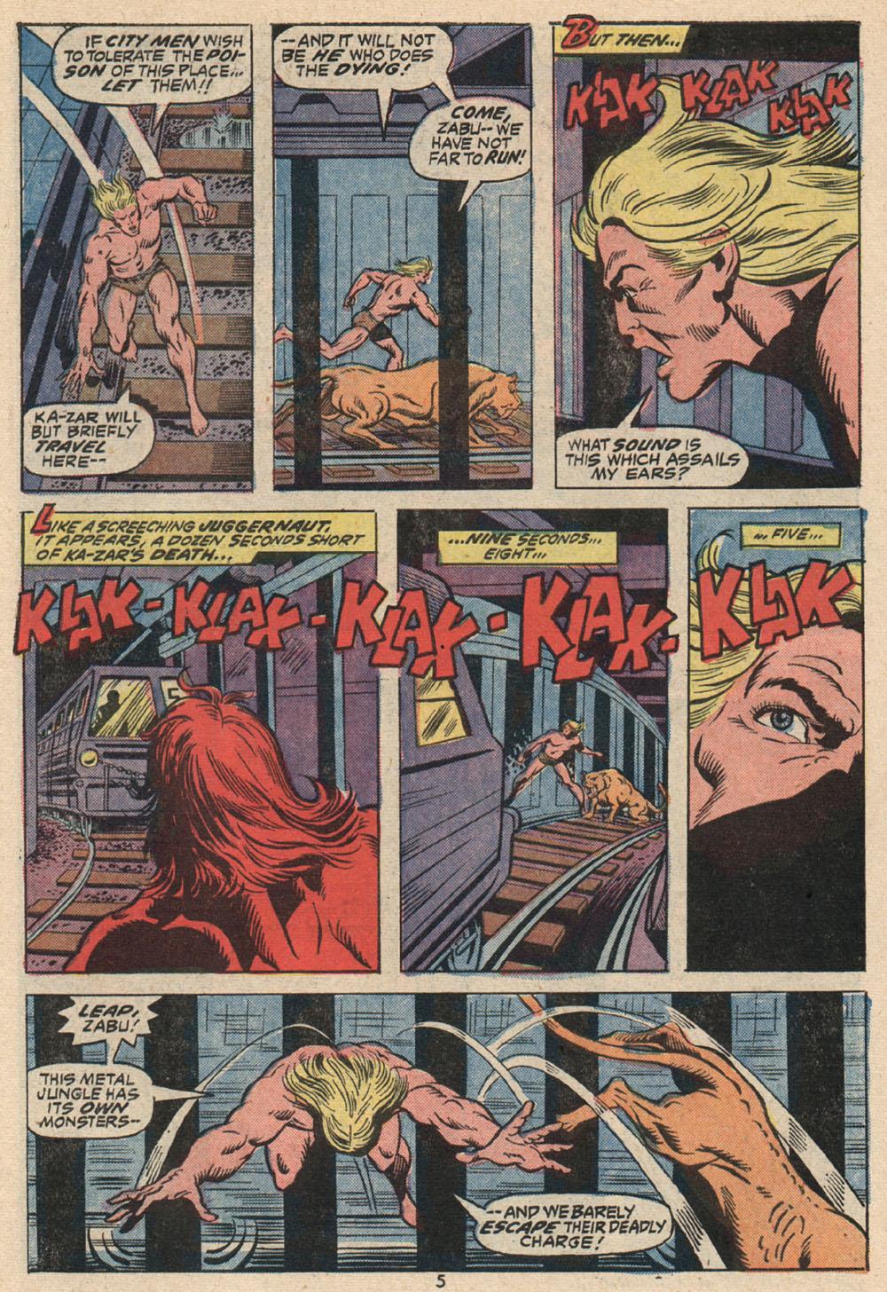 Read online Astonishing Tales (1970) comic -  Issue #16 - 5