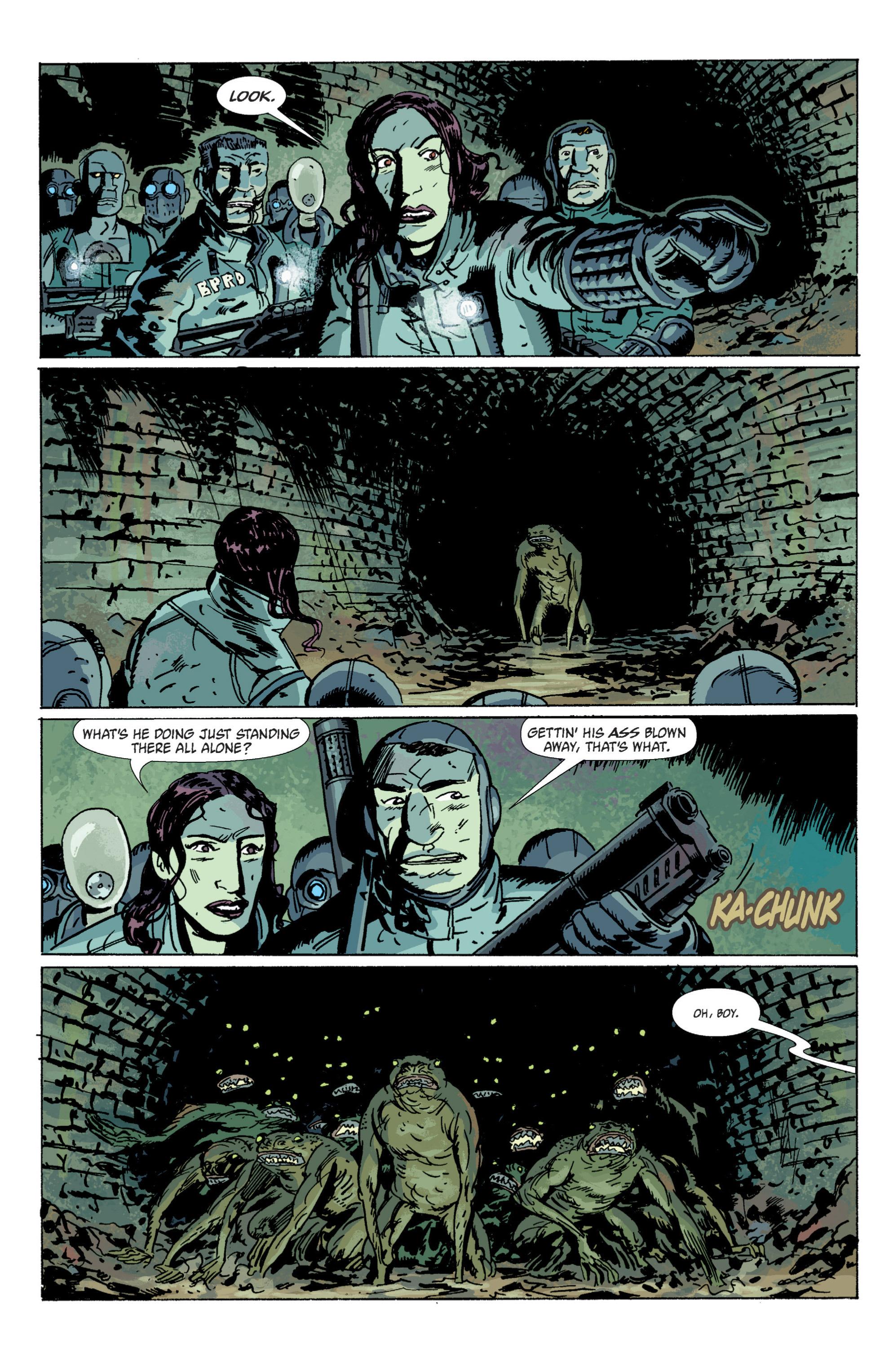 Read online B.P.R.D. (2003) comic -  Issue # TPB 5 - 18