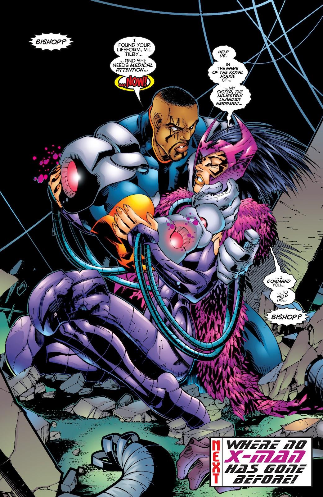 Uncanny X-Men (1963) issue 342 - Page 22