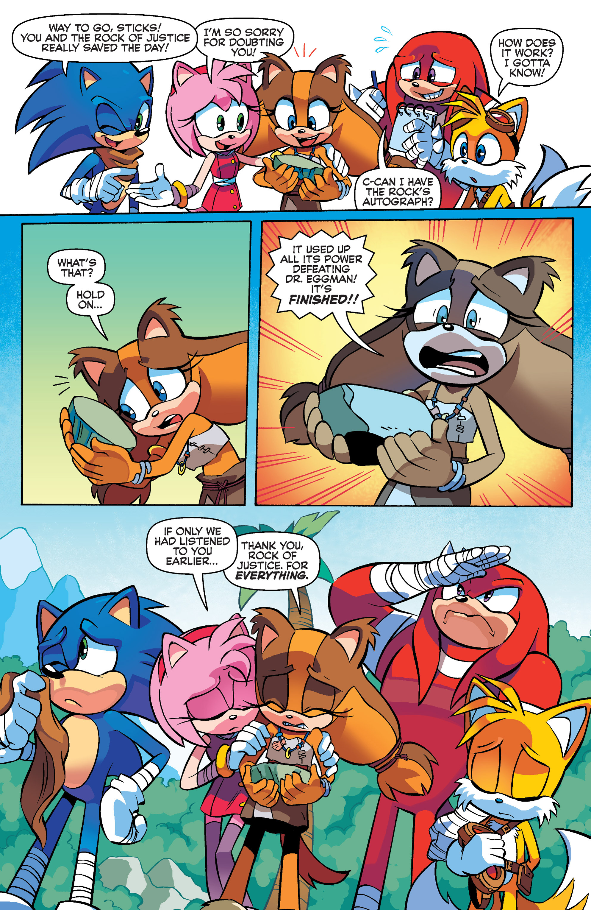 Read online Sonic Boom comic -  Issue #4 - 19