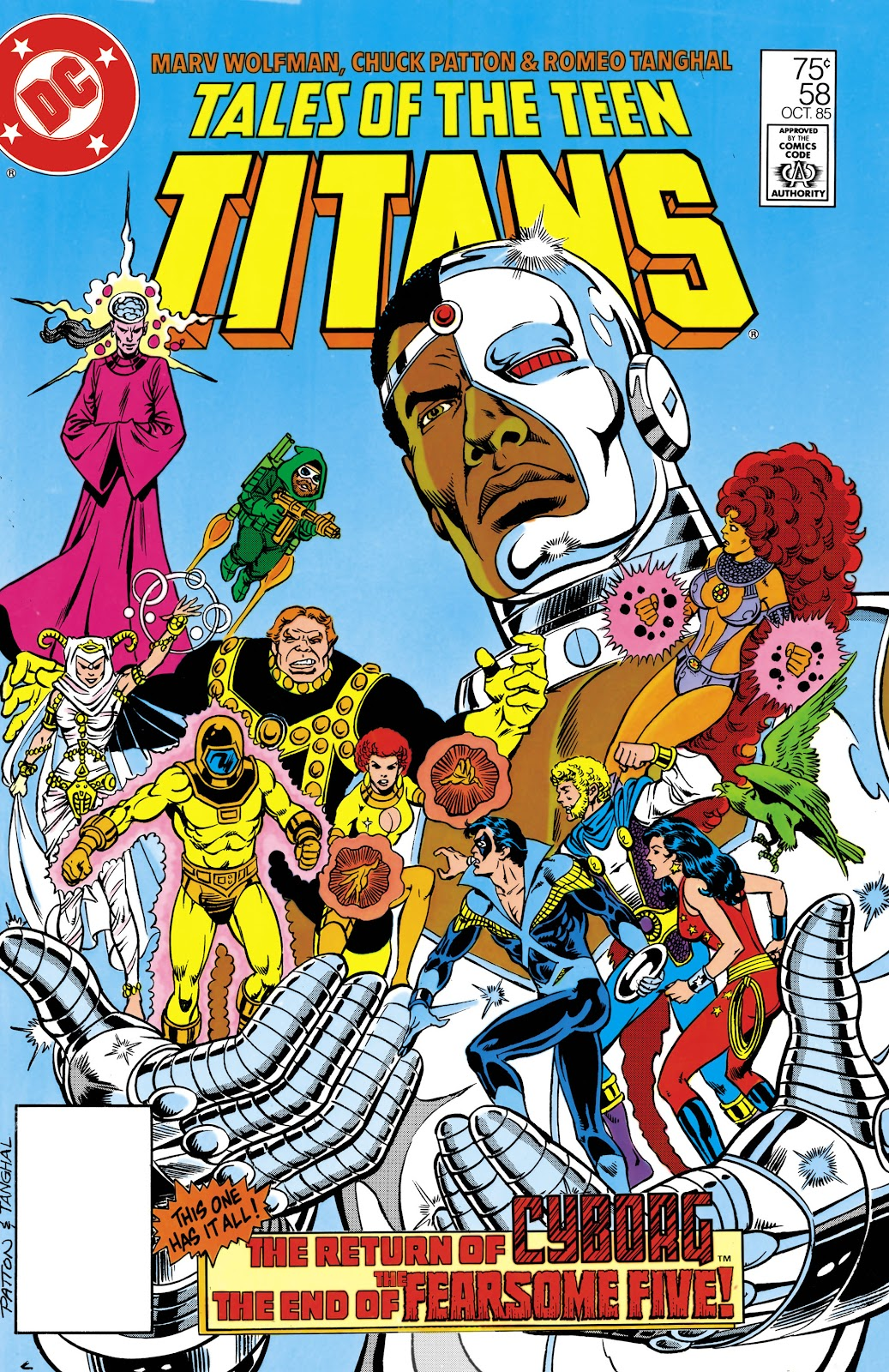 Tales of the Teen Titans 58 Page 1