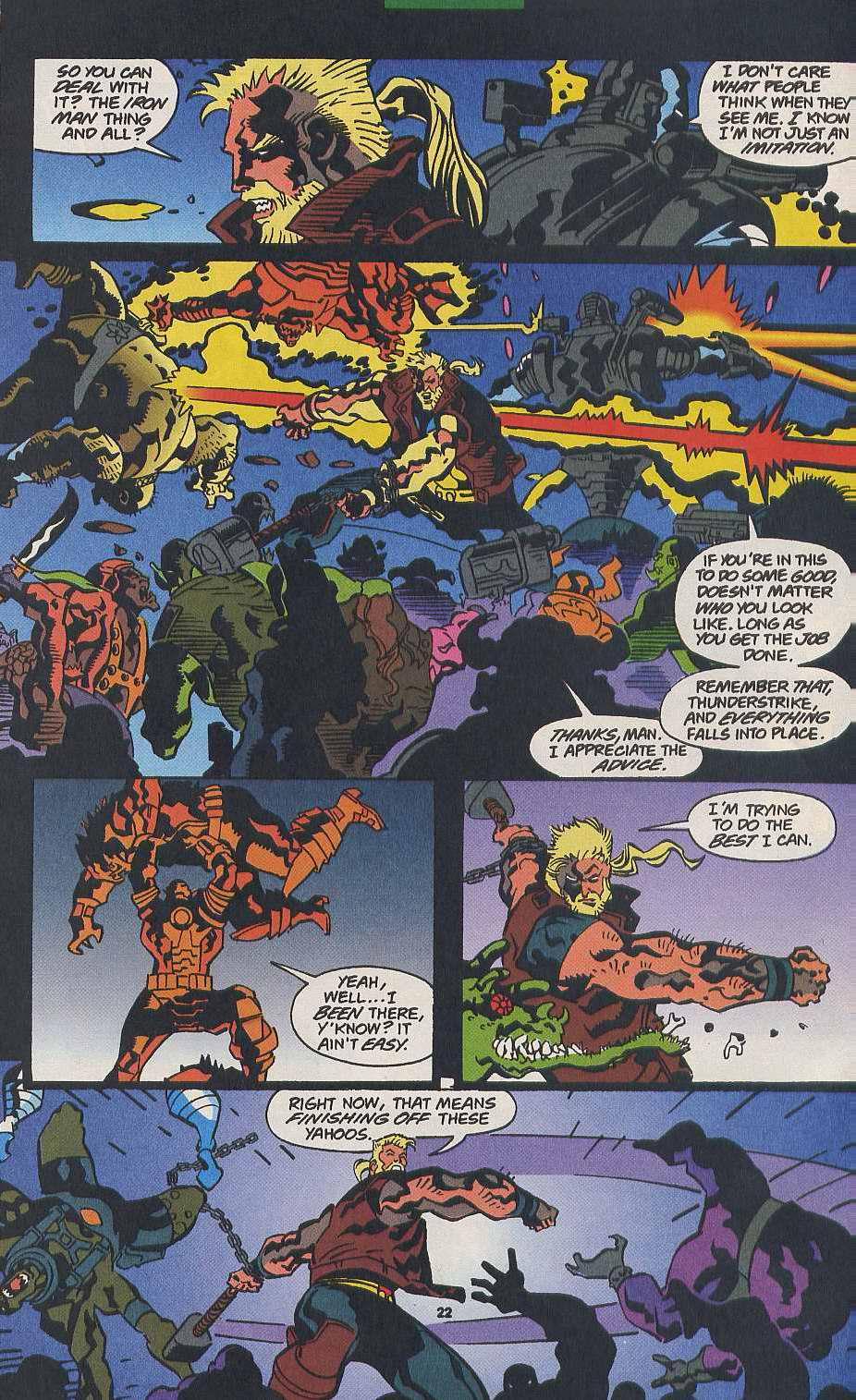 Read online Secret Defenders comic -  Issue #9 - 18